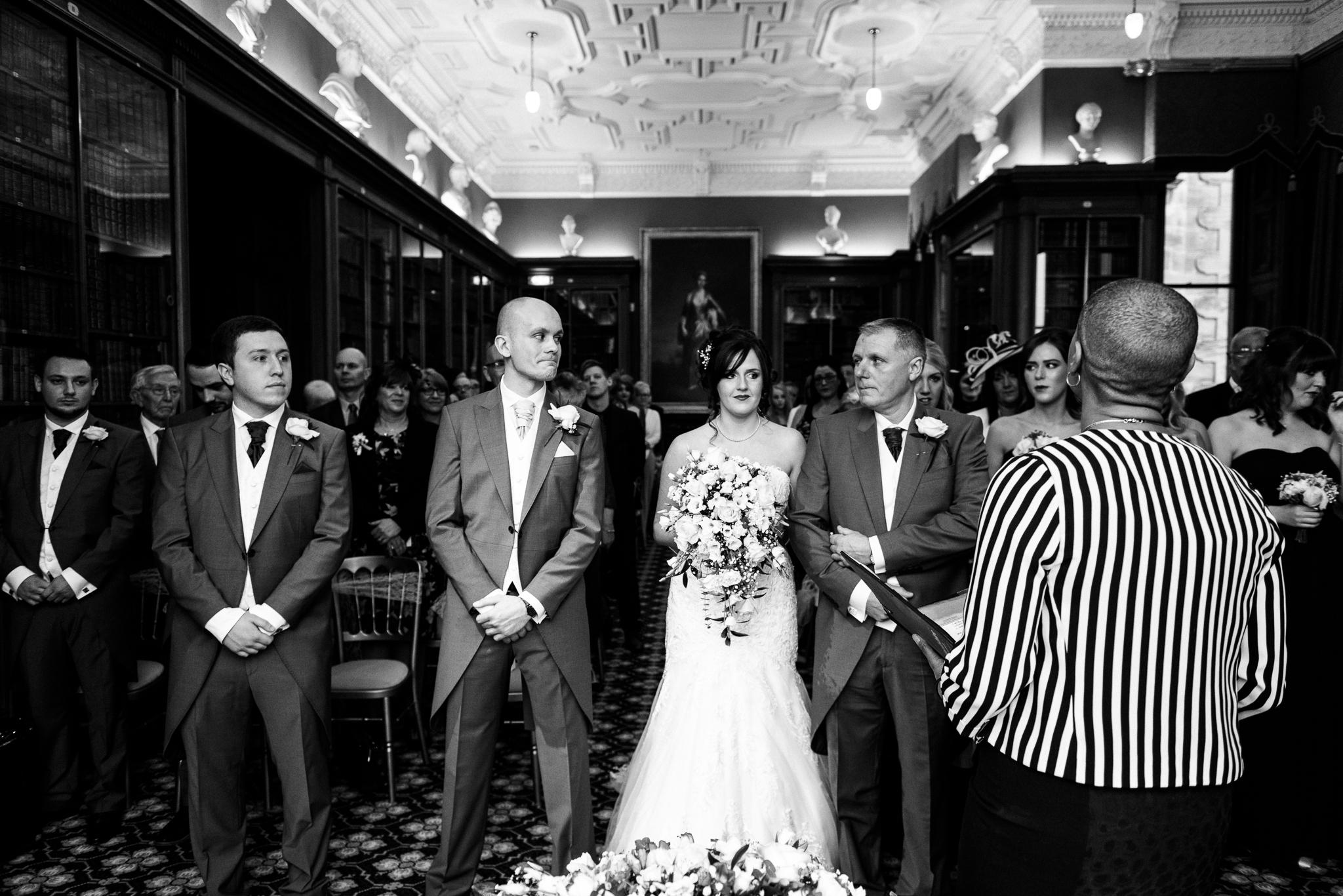 Snow Winter Wedding at Sandon Hall, Staffordshire - Jenny Harper-28.jpg