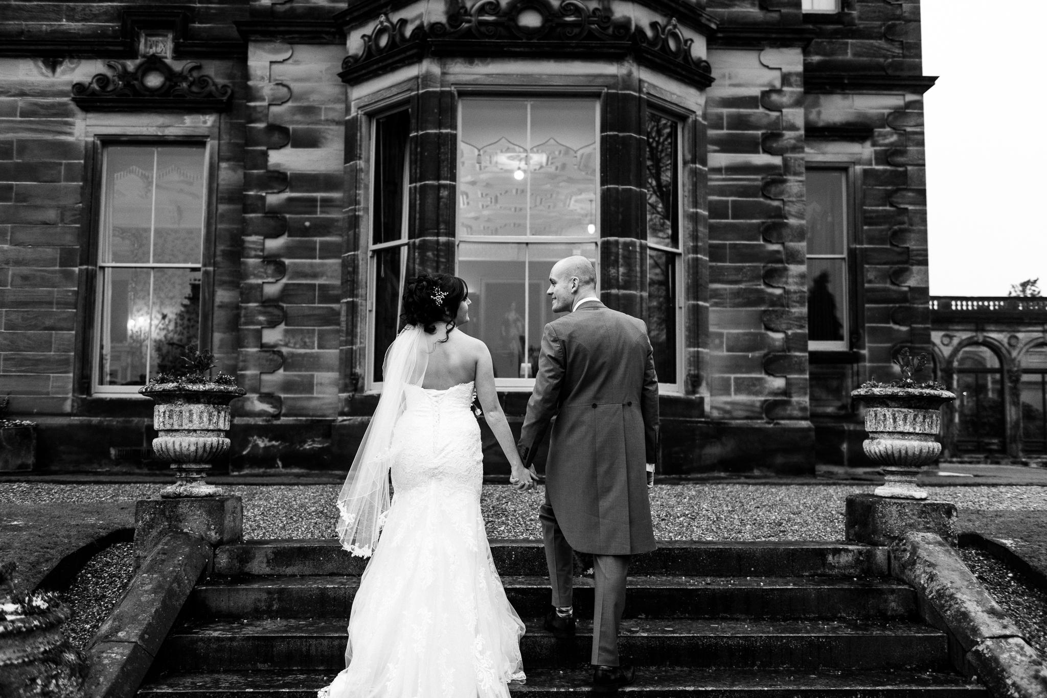 Snow Winter Wedding at Sandon Hall, Staffordshire - Jenny Harper-38.jpg