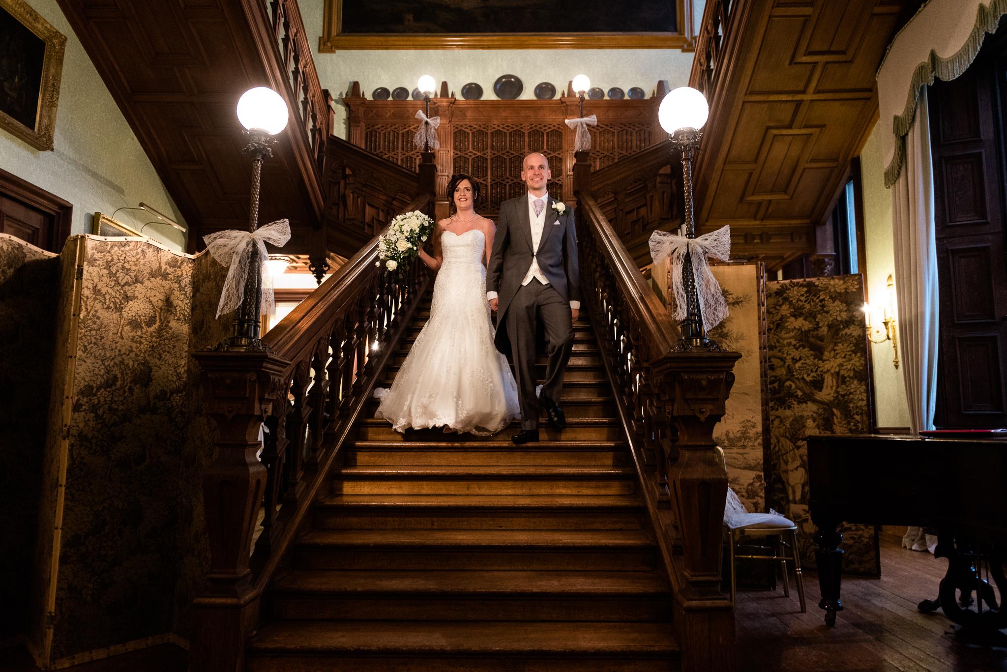 Snow Winter Wedding at Sandon Hall, Staffordshire - Jenny Harper-40.jpg