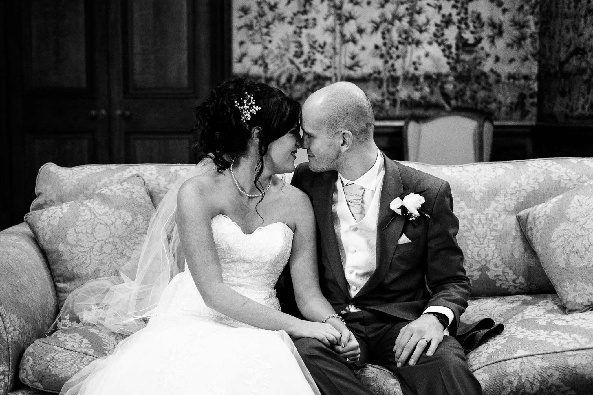 Snow Winter Wedding at Sandon Hall, Staffordshire - Jenny Harper-47.jpg