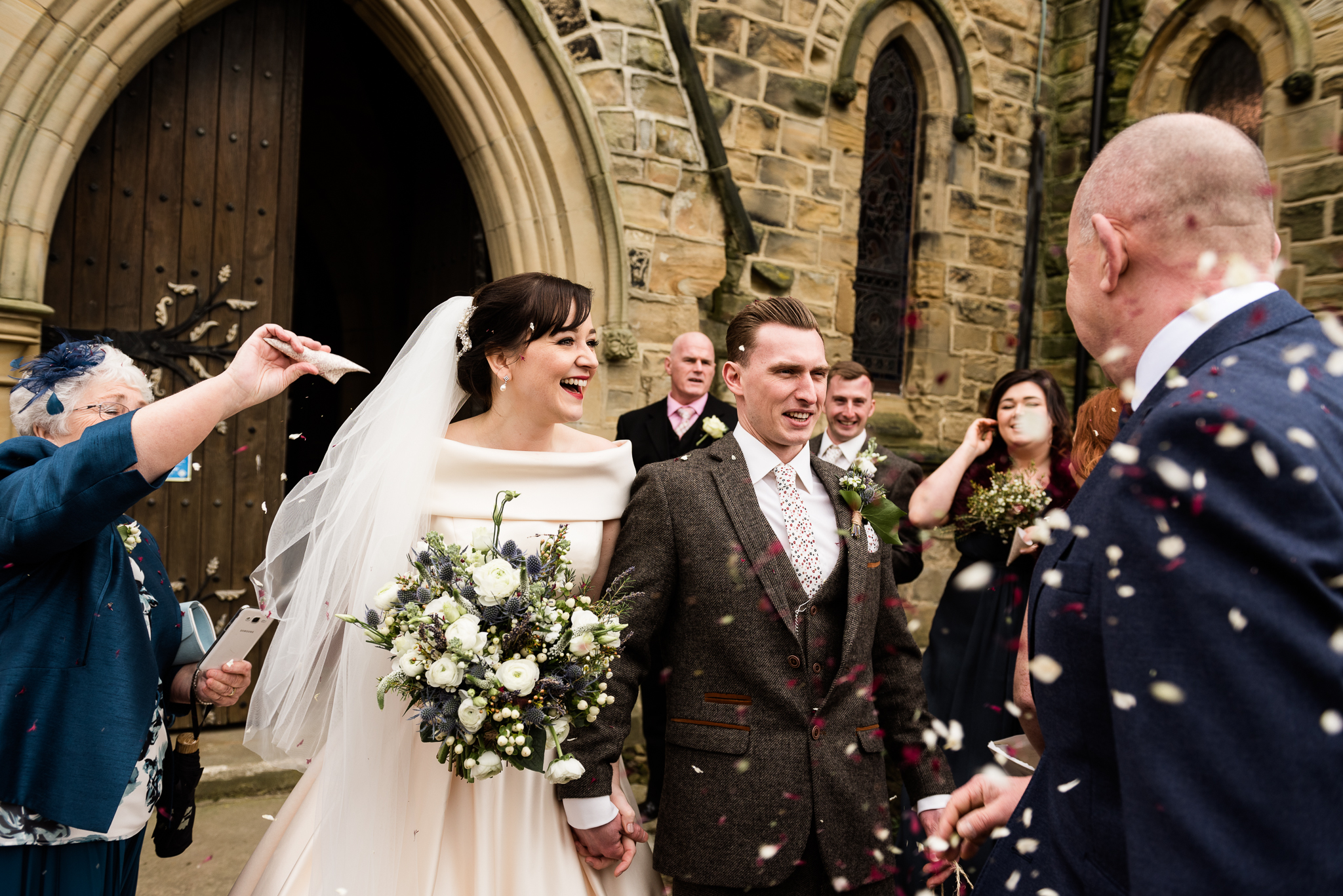 Yorkshire Wedding Photography Spring Wedding Cubley Hall Rustic Barn-29.jpg