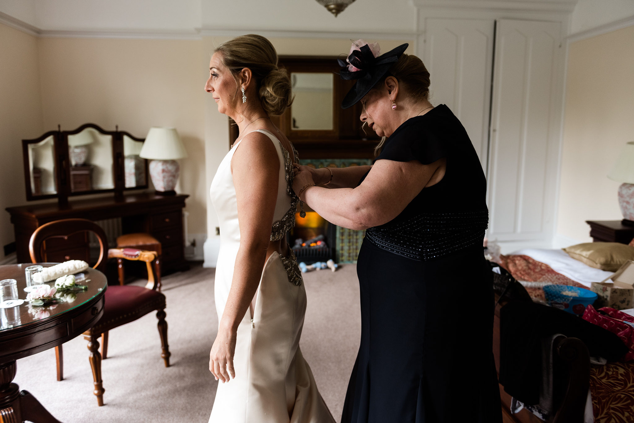 Stylish Easter Wedding at Pendrell Hall Country House Wedding Venue Staffordshire - Jenny Harper-18.jpg