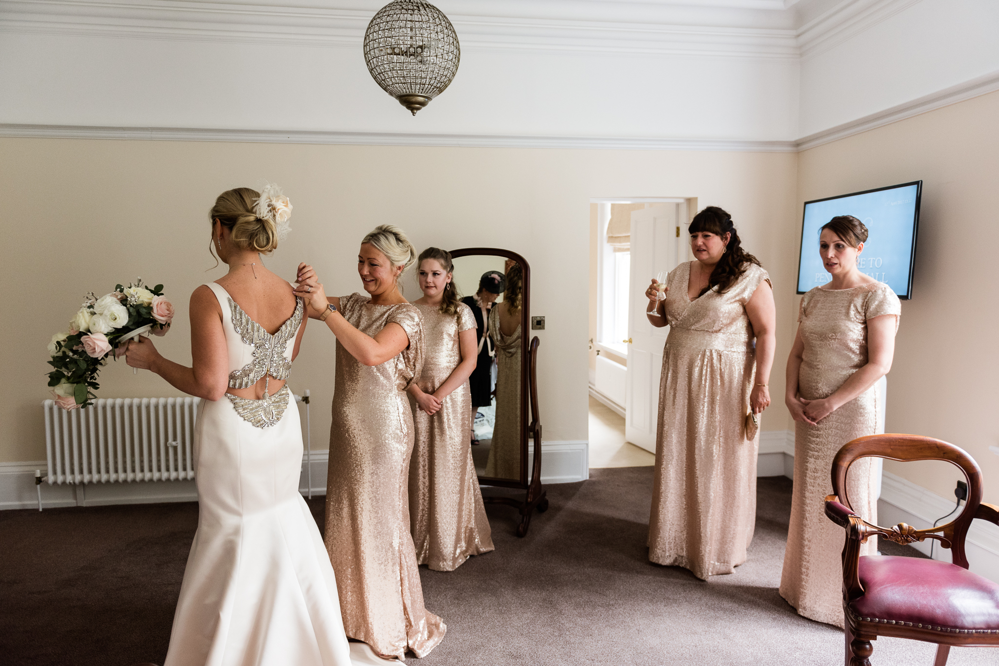 Stylish Easter Wedding at Pendrell Hall Country House Wedding Venue Staffordshire - Jenny Harper-21.jpg