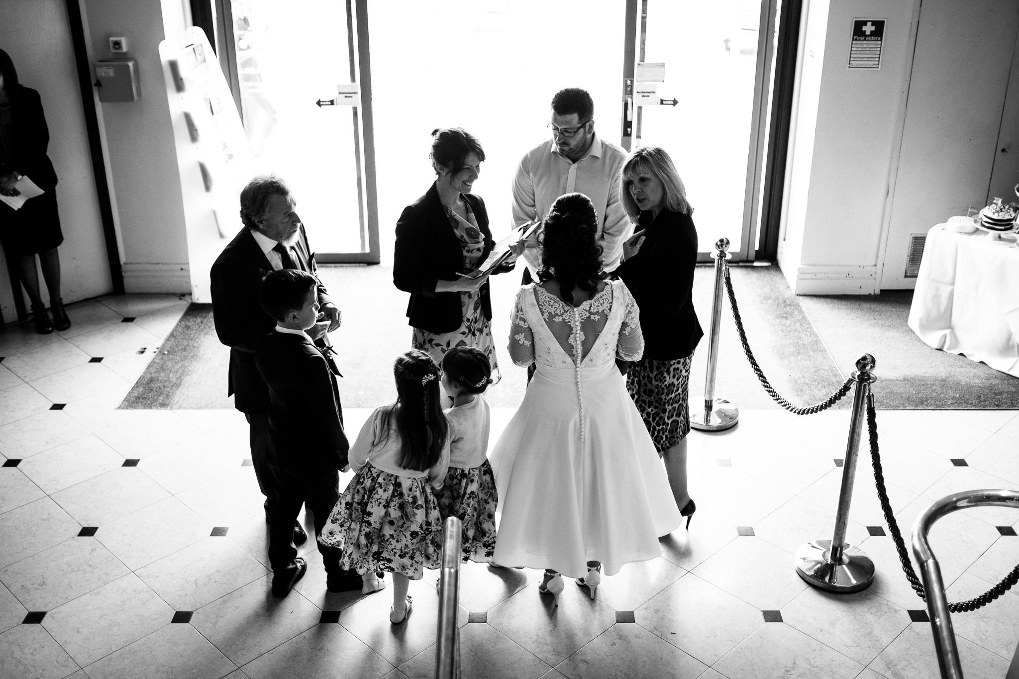 Cheshire Wedding Photography at Crewe Lyceum Theatre Stage Wedding Art Deco 20s - Jenny Harper-14.jpg