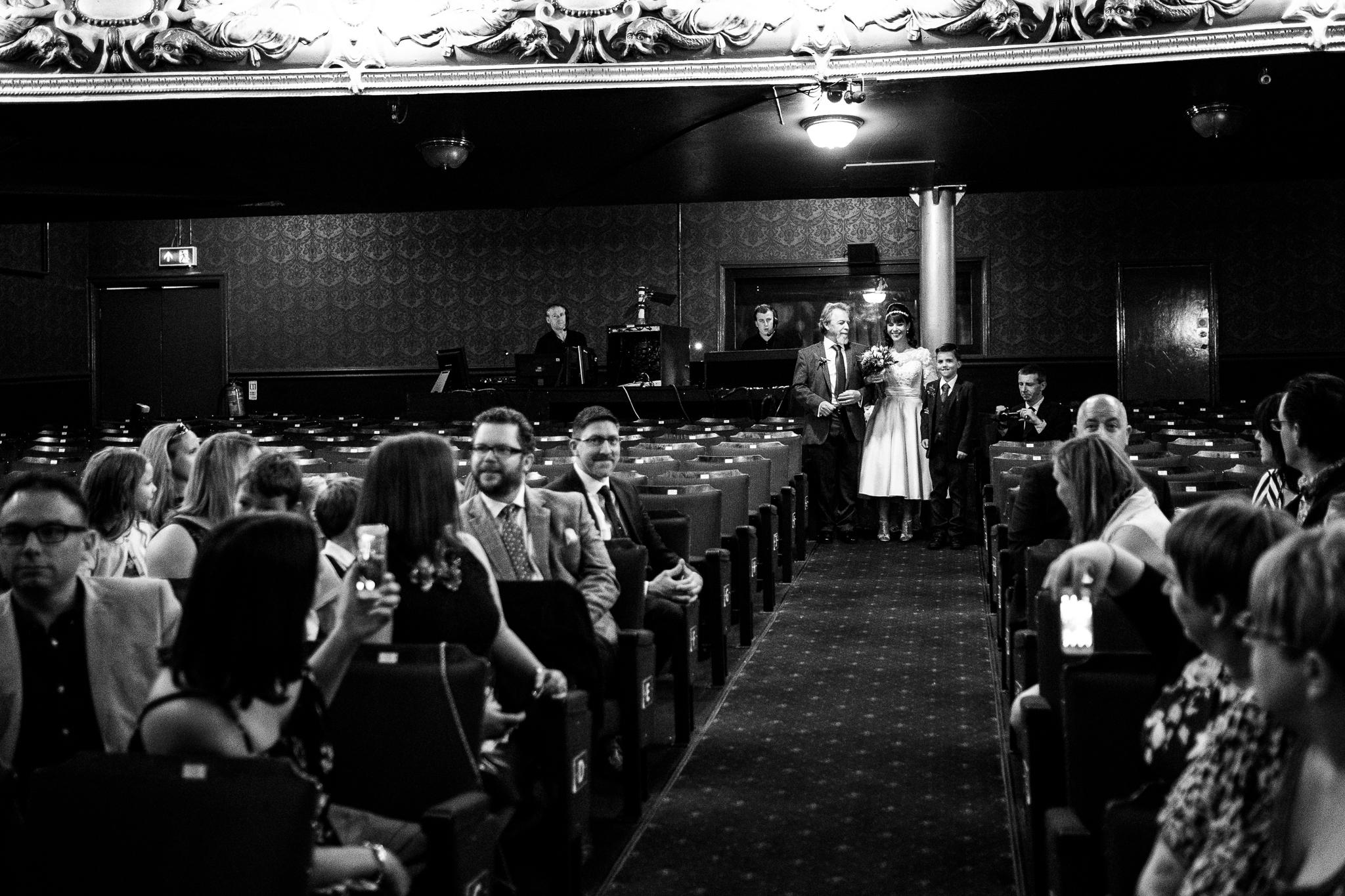 Cheshire Wedding Photography at Crewe Lyceum Theatre Stage Wedding Art Deco 20s - Jenny Harper-15.jpg