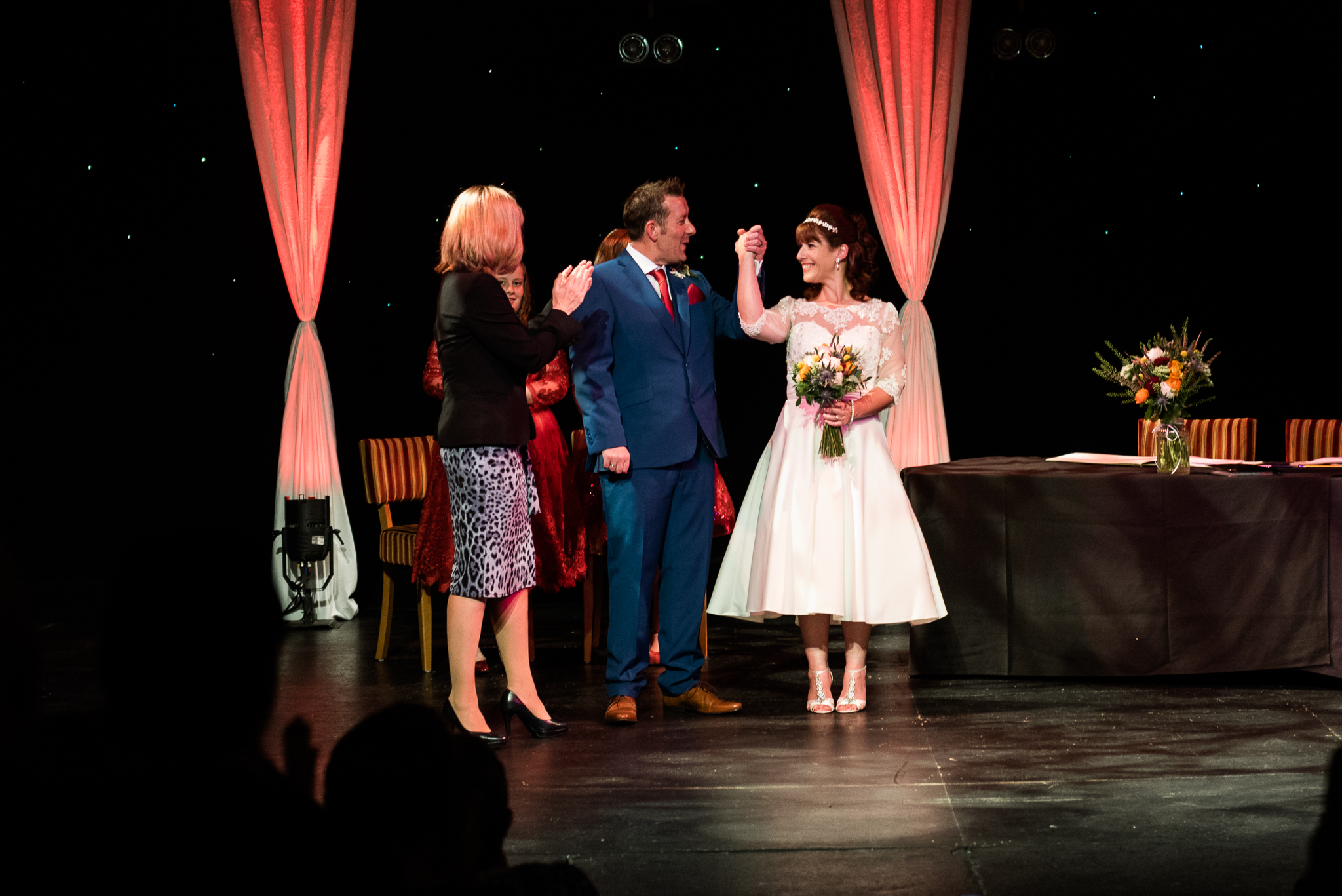Cheshire Wedding Photography at Crewe Lyceum Theatre Stage Wedding Art Deco 20s - Jenny Harper-25.jpg