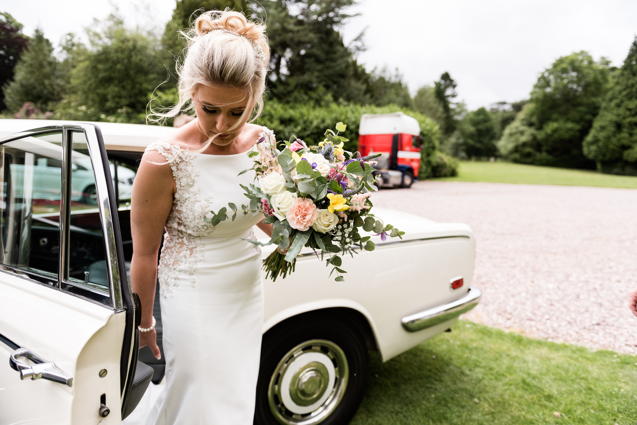 Vintage Outdoor Wedding Photography English Country Afternoon Tea Temple Bishton Hall - Jenny Harper-12.jpg