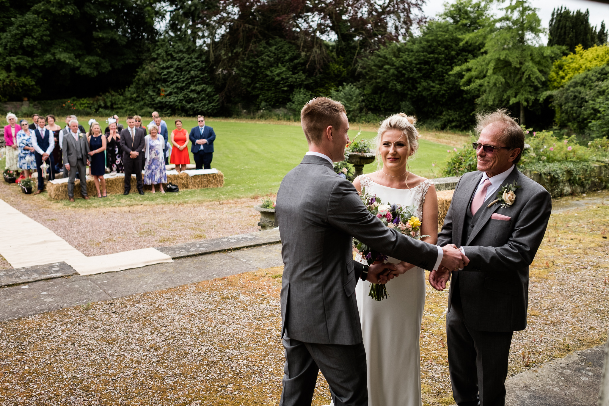 Vintage Outdoor Wedding Photography English Country Afternoon Tea Temple Bishton Hall - Jenny Harper-15.jpg