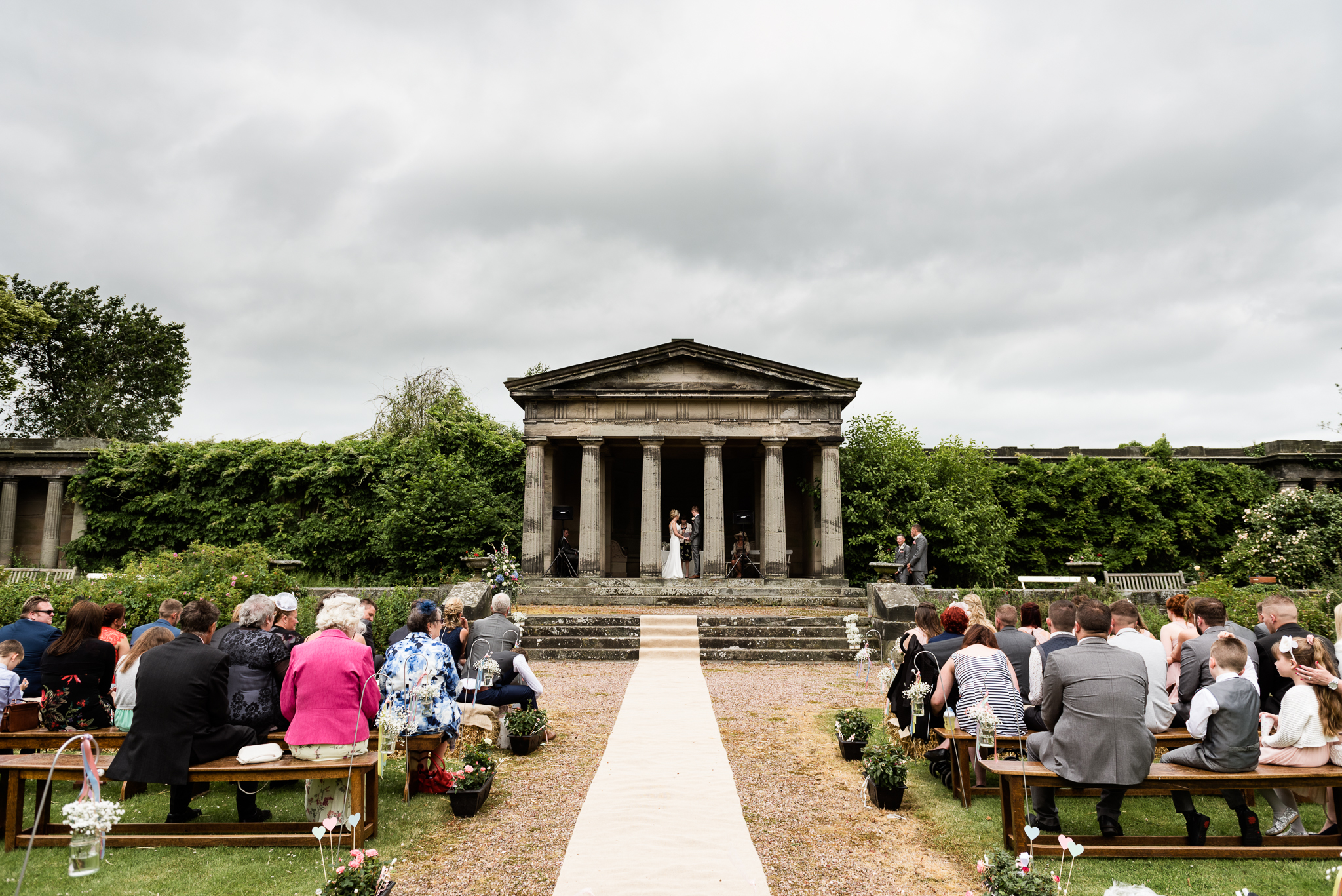 Vintage Outdoor Wedding Photography English Country Afternoon Tea Temple Bishton Hall - Jenny Harper-17.jpg