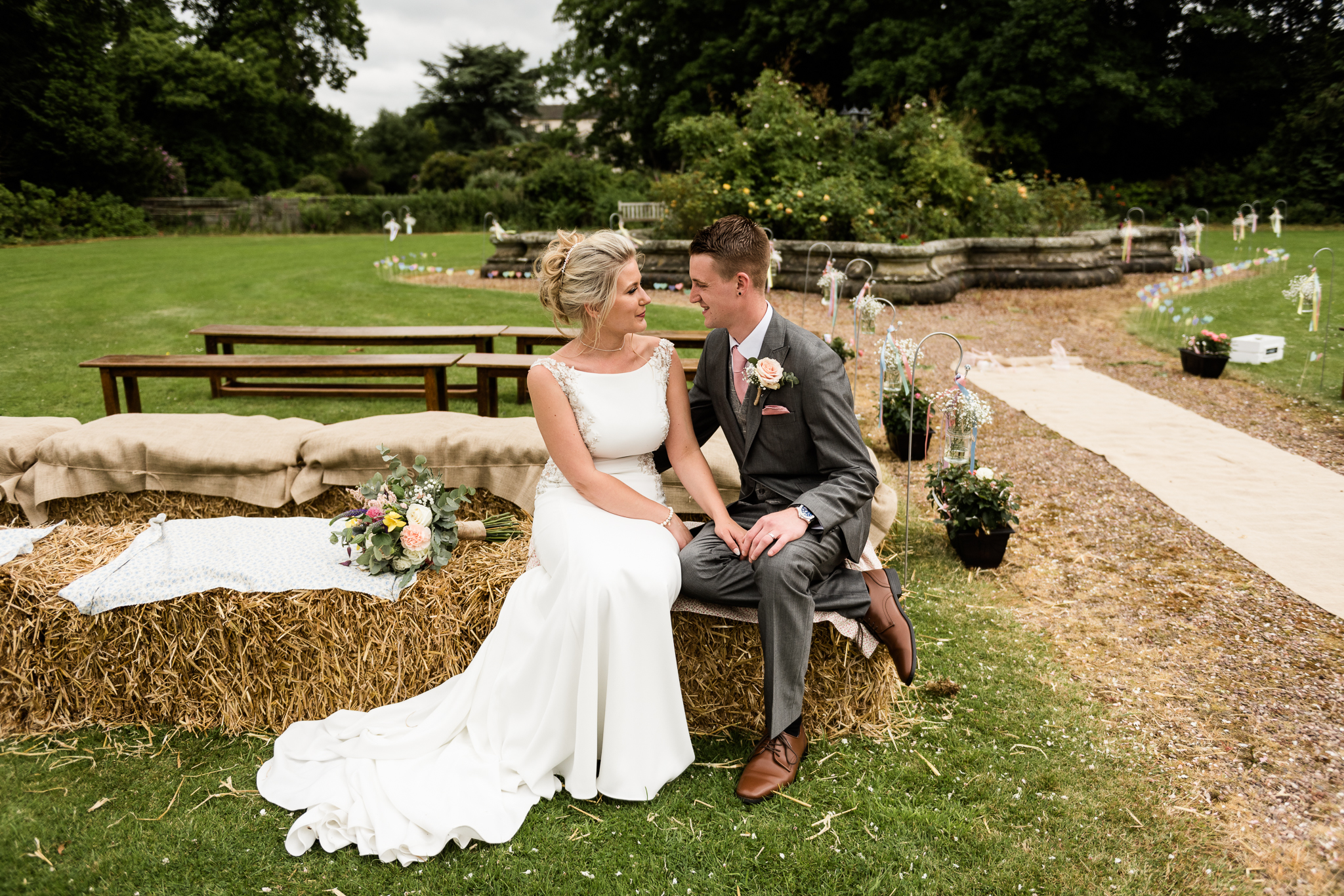 Vintage Outdoor Wedding Photography English Country Afternoon Tea Temple Bishton Hall - Jenny Harper-32.jpg