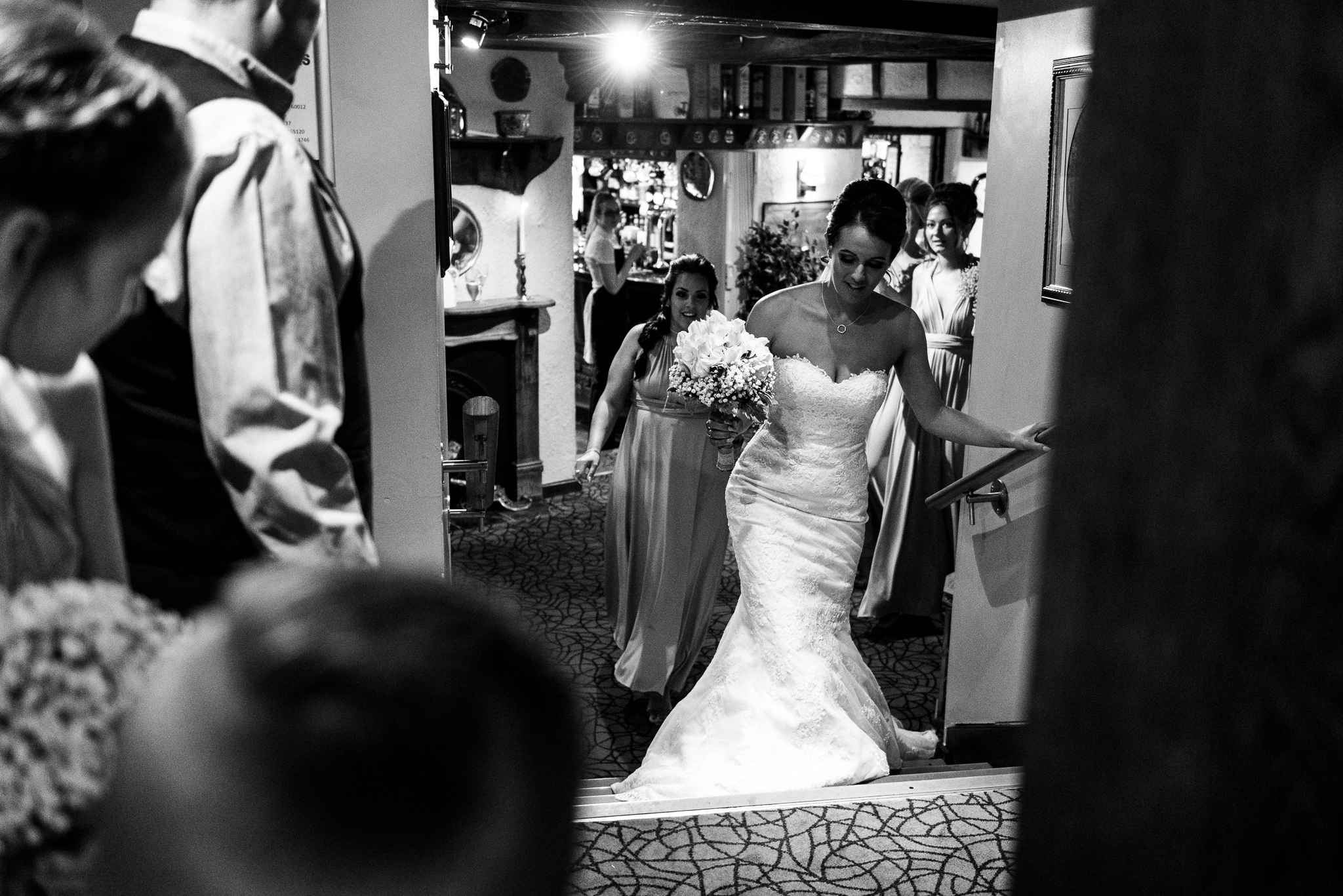 Staffordshire Moorlands Documentary Wedding Photography at The Three Horseshoes, Blackshaw Moor - Jenny Harper-16.jpg
