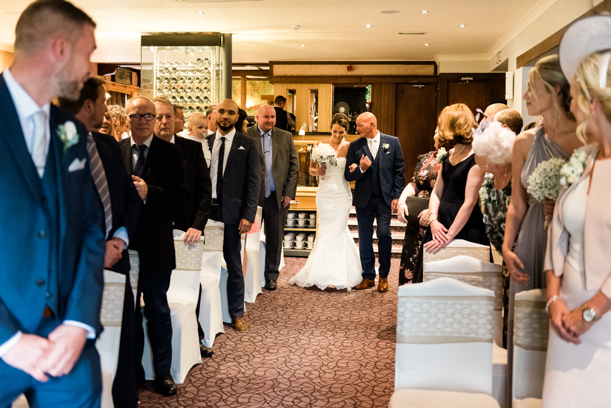Staffordshire Moorlands Documentary Wedding Photography at The Three Horseshoes, Blackshaw Moor - Jenny Harper-18.jpg