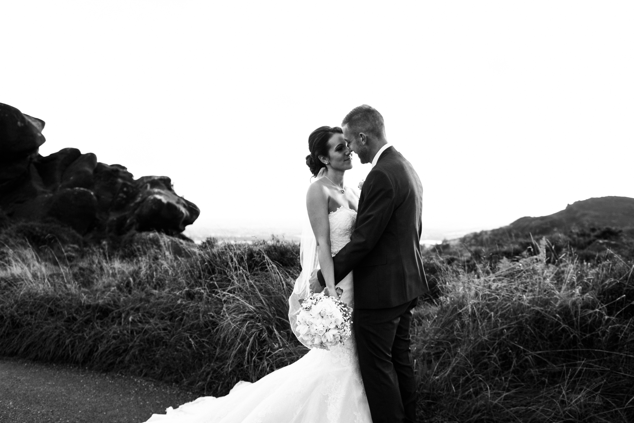 Staffordshire Moorlands Documentary Wedding Photography at The Three Horseshoes, Blackshaw Moor - Jenny Harper-39.jpg