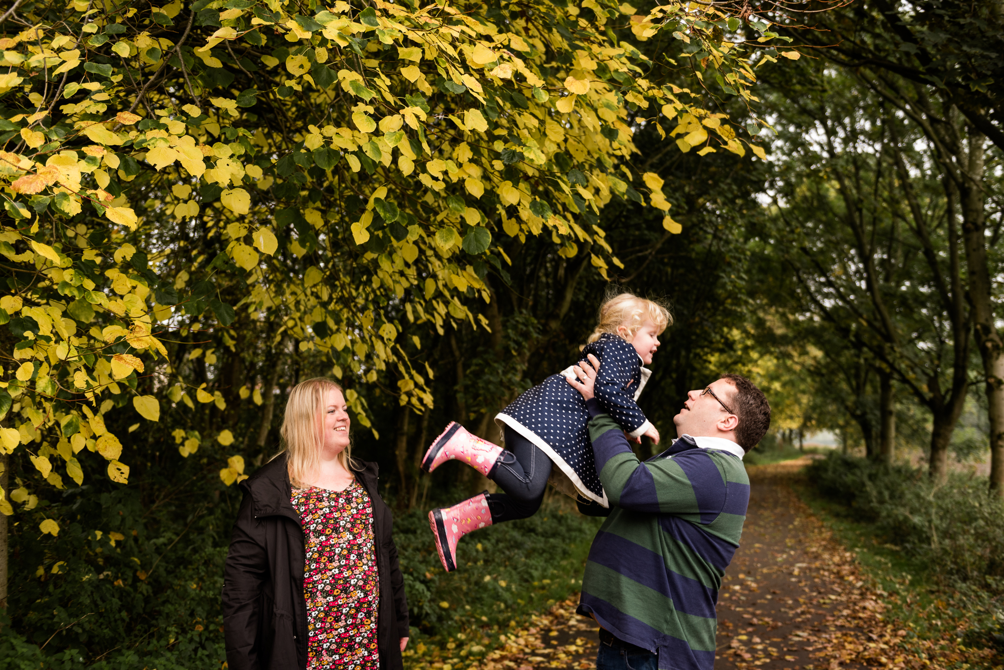 Staffordshire Documentary Family Photography Autumn Lifestyle Fall Leaves - Jenny Harper-4.jpg