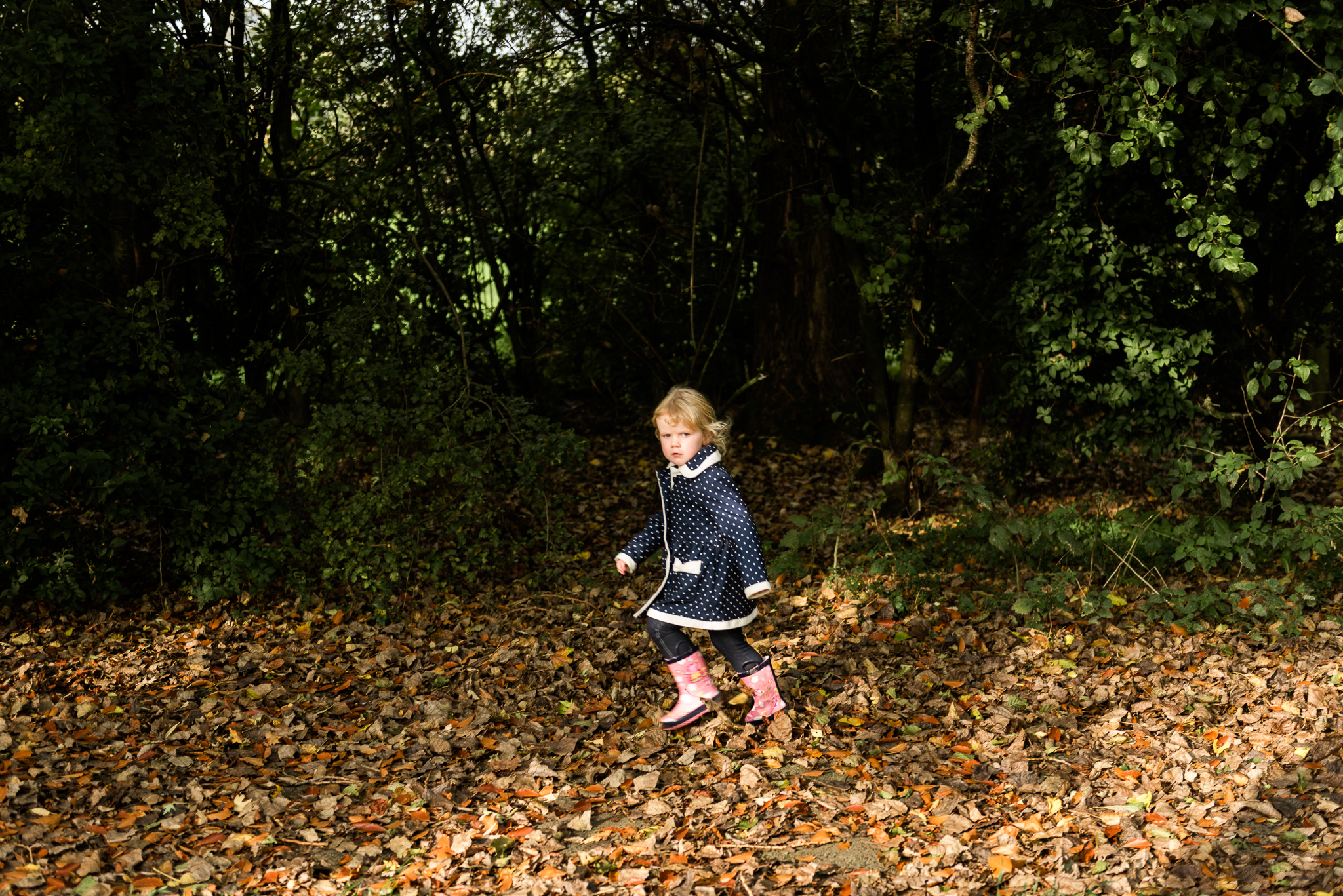 Staffordshire Documentary Family Photography Autumn Lifestyle Fall Leaves - Jenny Harper-13.jpg