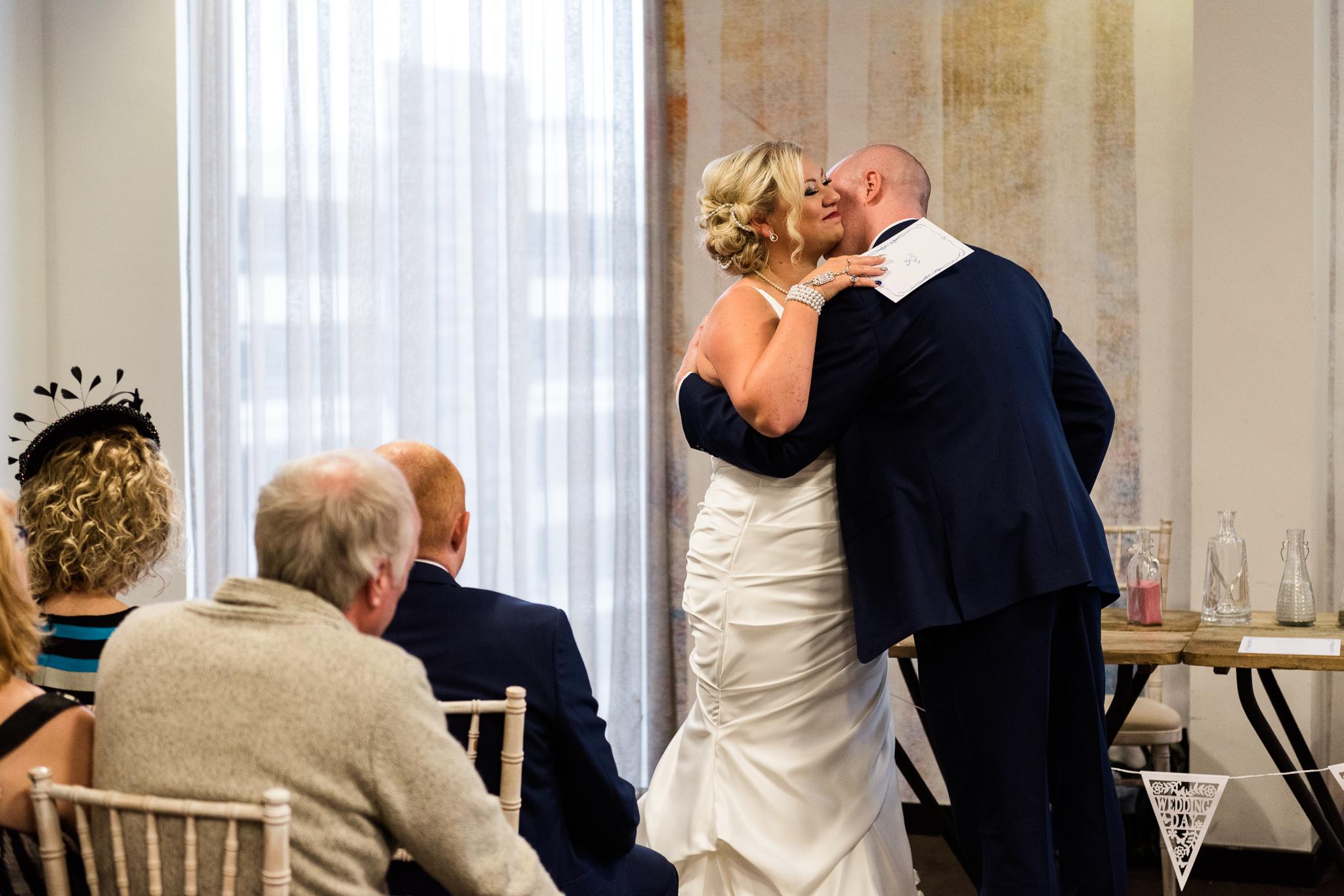 Manchester Wedding Photography On the 7th Media City UK, Salford 20s Art Deco Feathers Urban - Jenny Harper-21.jpg