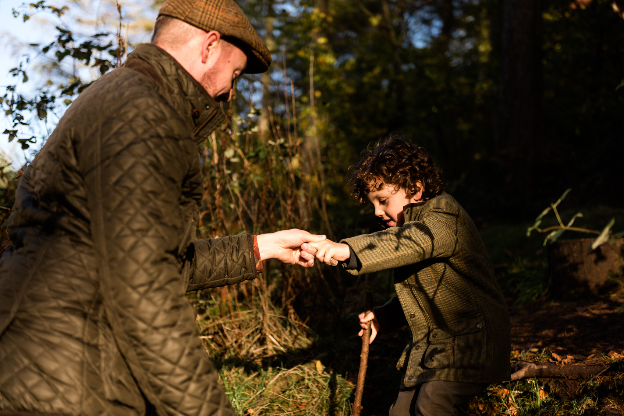 Autumn Documentary Lifestyle Family Photography at Clent Hills, Worcestershire Country Park countryside outdoors nature - Jenny Harper-19.jpg