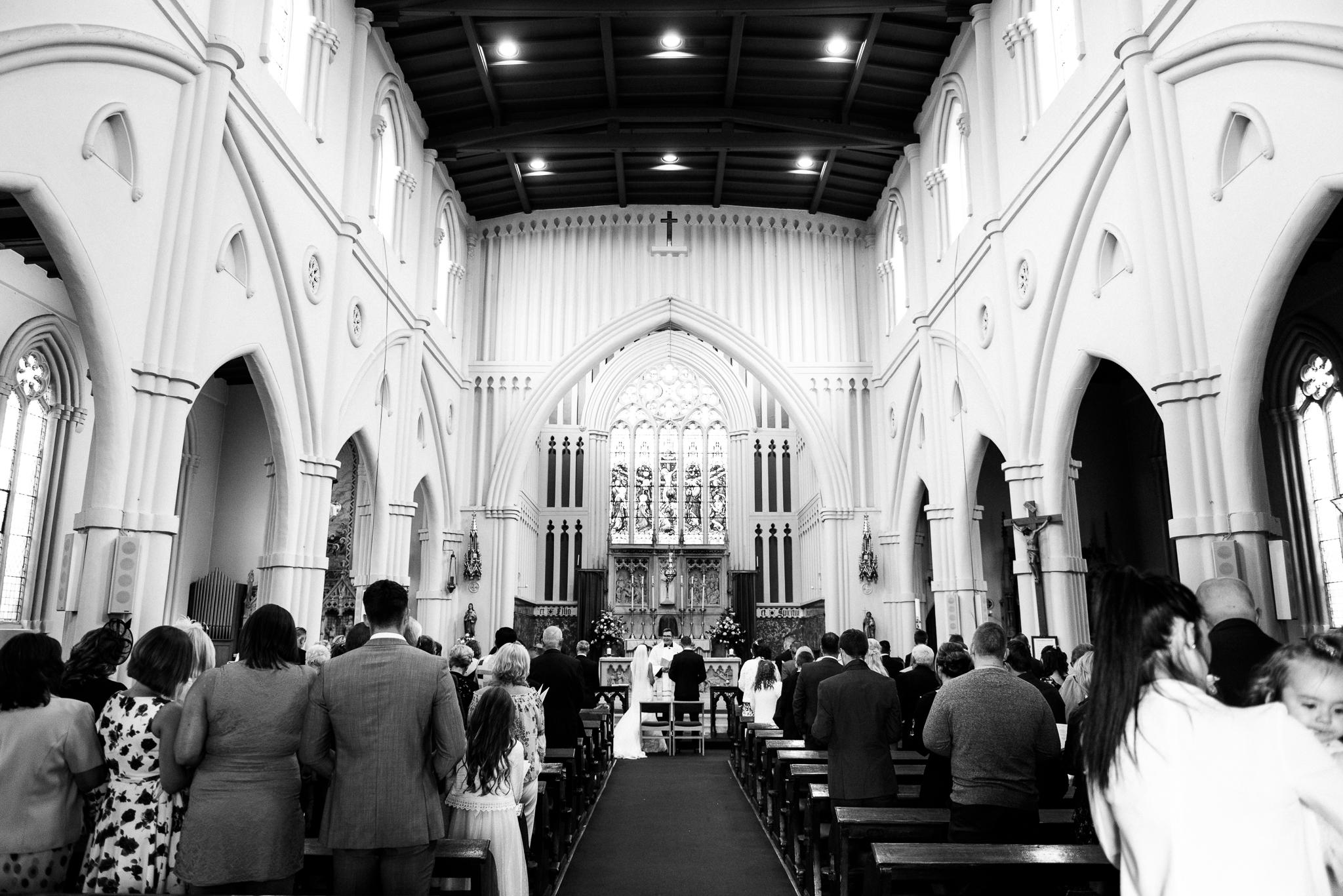 Staffordshire Wedding Catholic Newcastle-under-Lyme Floral Hall Tunstall Documentary Photography - Jenny Harper-20.jpg