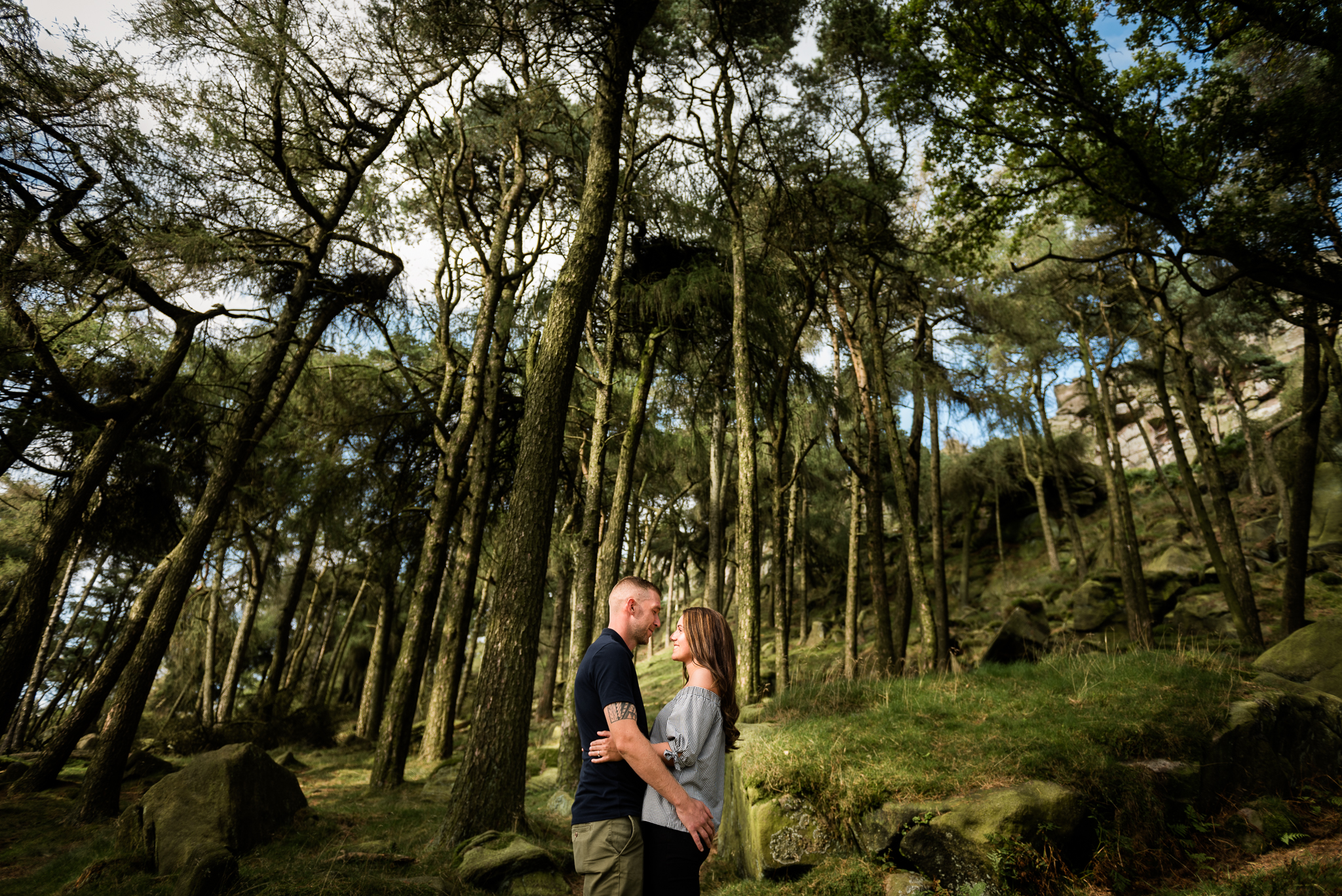 Pre-Wedding Family Photography, The Roaches, Peak District, Staffordshire Moorlands - Jenny Harper-4.jpg