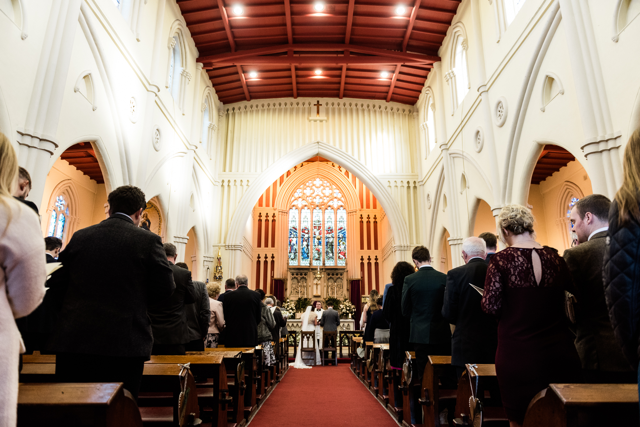 Staffordshire Winter Christmas Wedding at Holy Trinity Church and Keele Hall - Documentary Photography by Jenny Harper-19.jpg