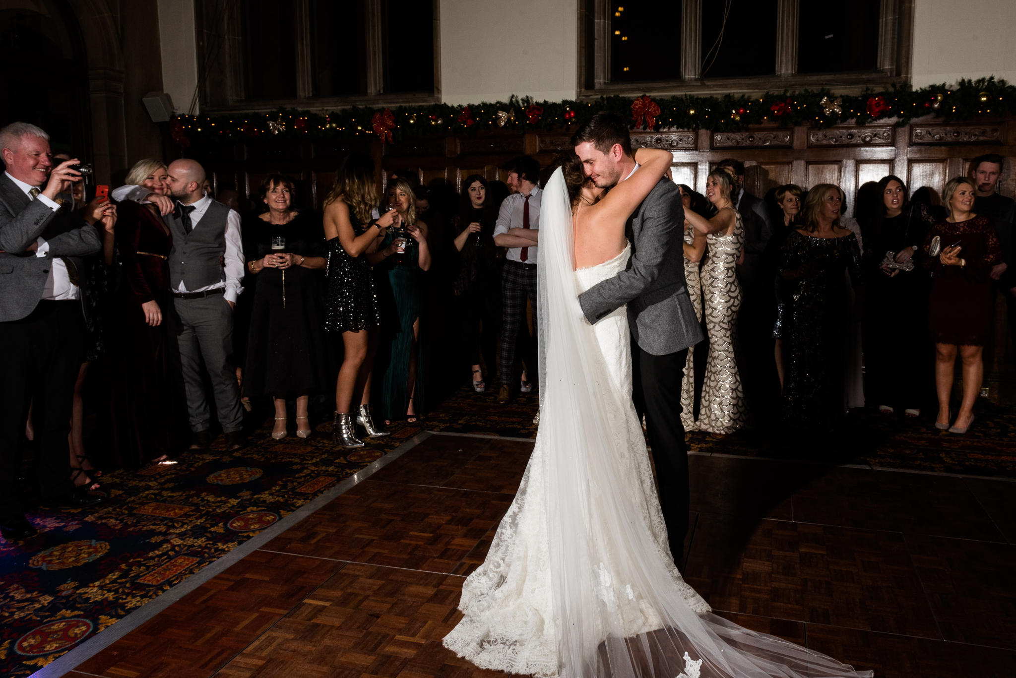 Staffordshire Winter Christmas Wedding at Holy Trinity Church and Keele Hall - Documentary Photography by Jenny Harper-43.jpg