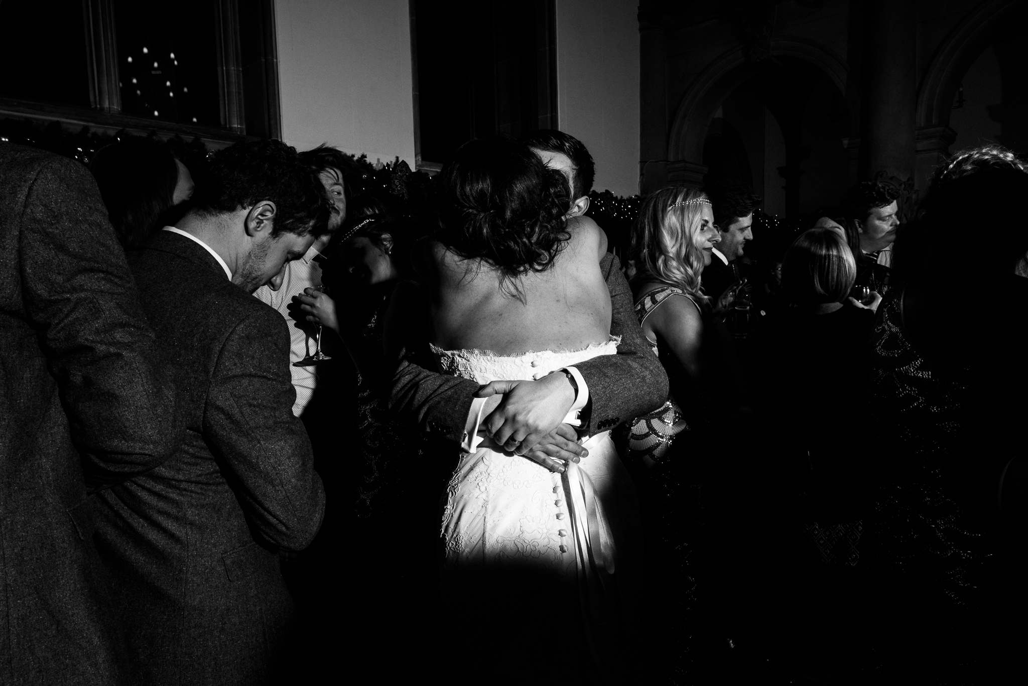 Staffordshire Winter Christmas Wedding at Holy Trinity Church and Keele Hall - Documentary Photography by Jenny Harper-45.jpg