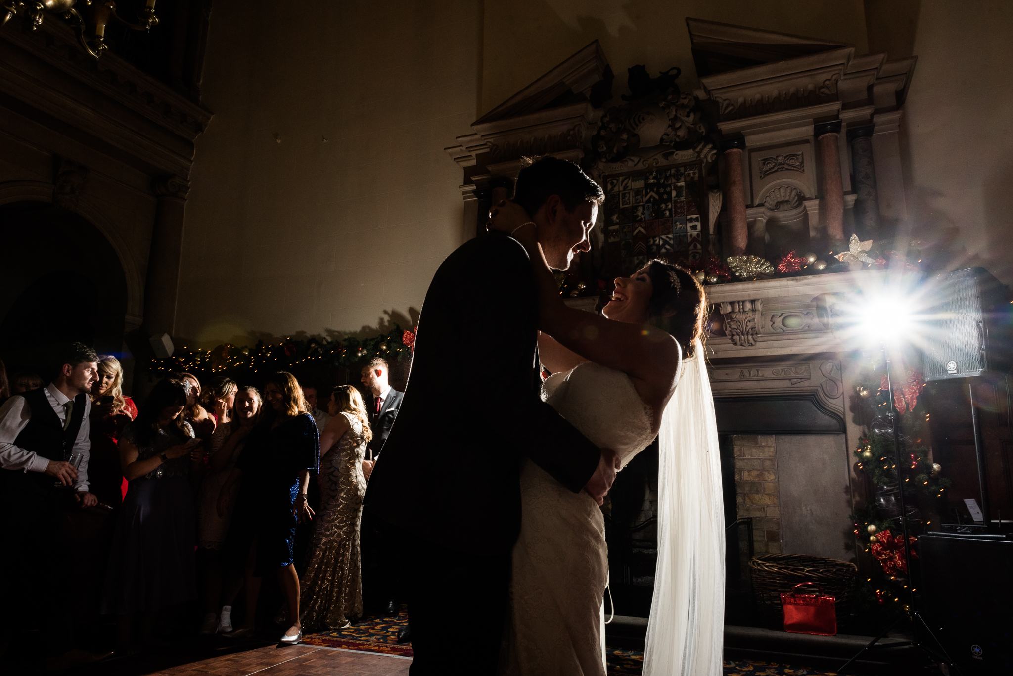 Staffordshire Winter Christmas Wedding at Holy Trinity Church and Keele Hall - Documentary Photography by Jenny Harper-44.jpg