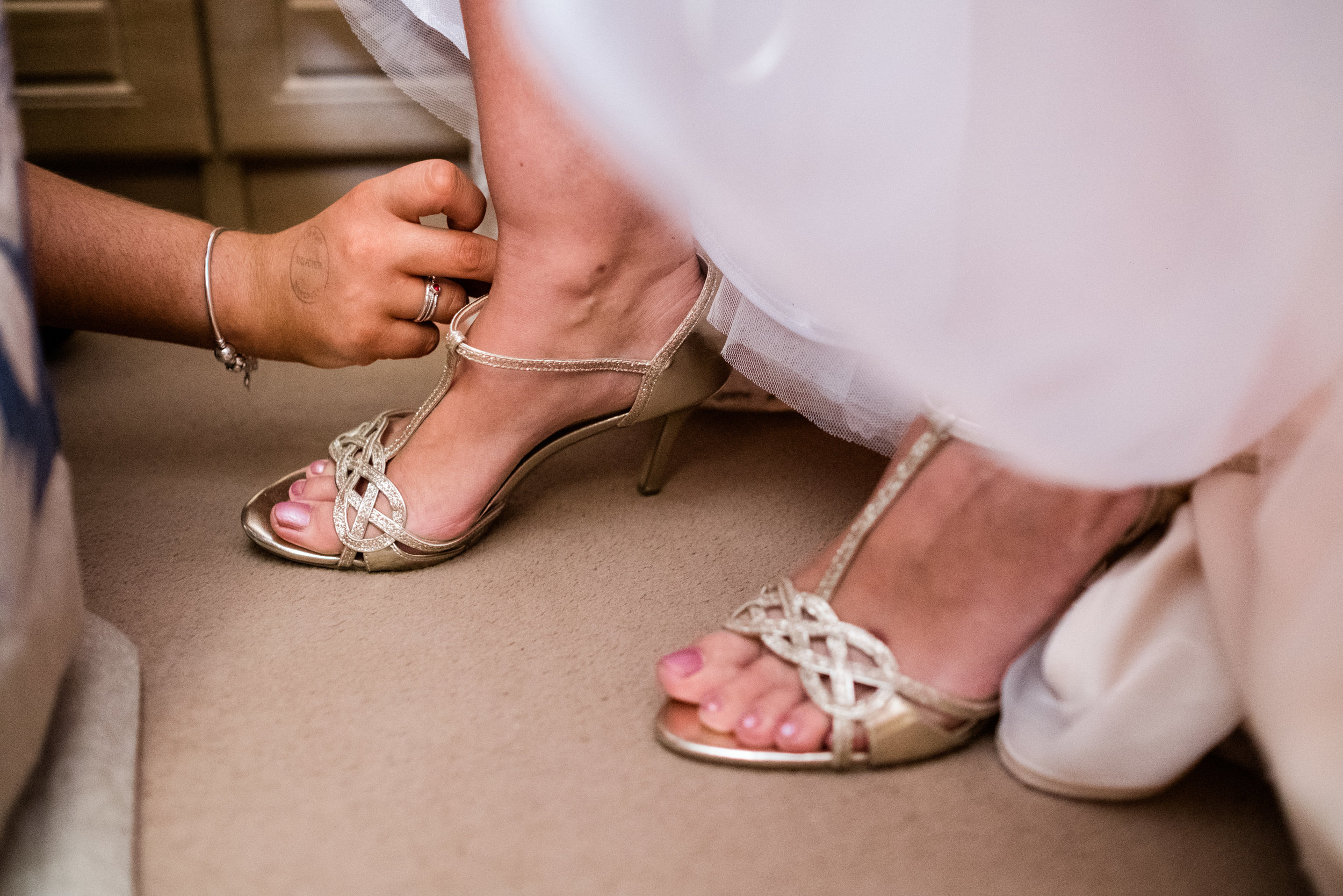 Summer Staffordshire Wedding Photography at The Manor, Cheadle - Jenny Harper-25.jpg