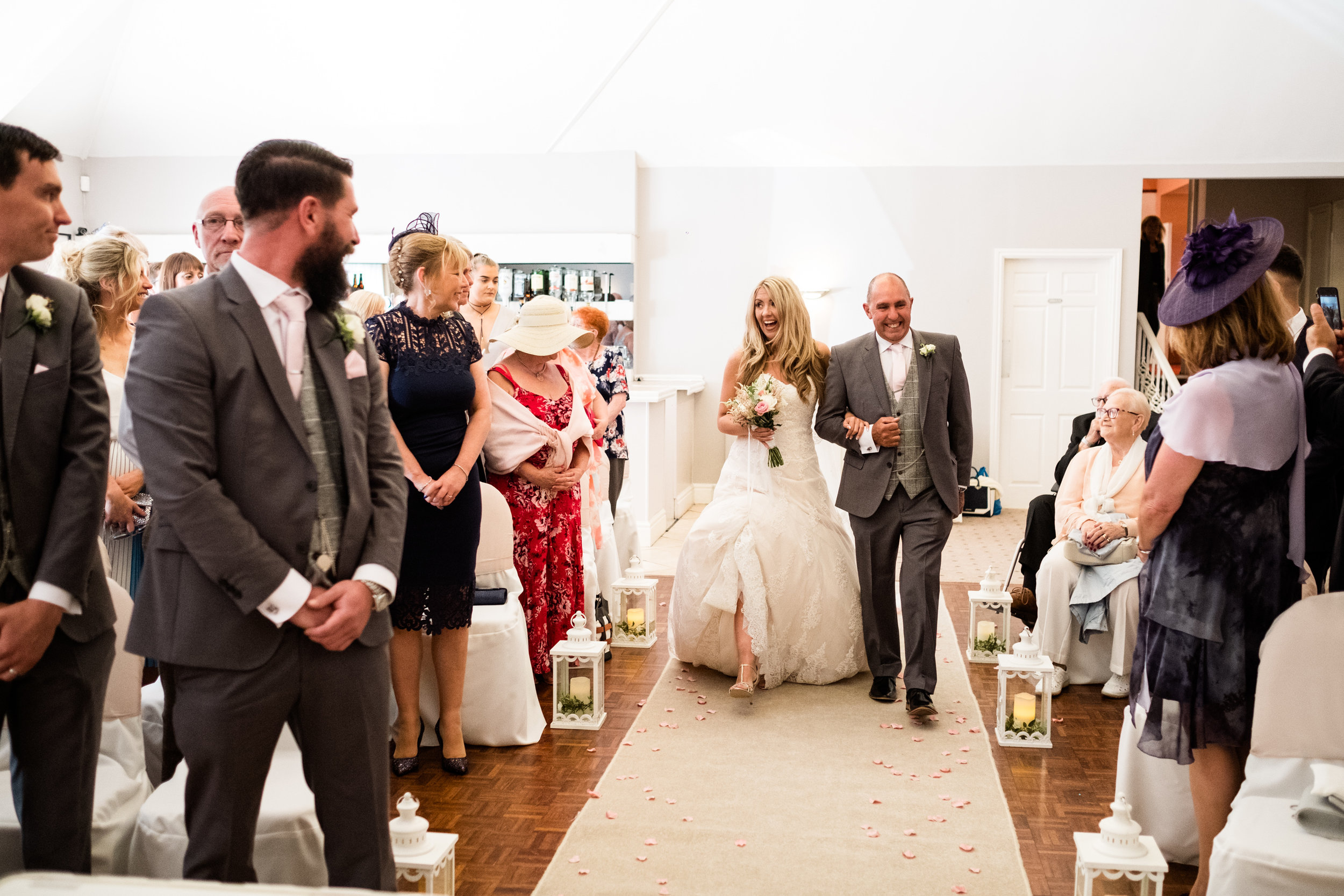 Summer Staffordshire Wedding Photography at The Manor, Cheadle - Jenny Harper-30.jpg