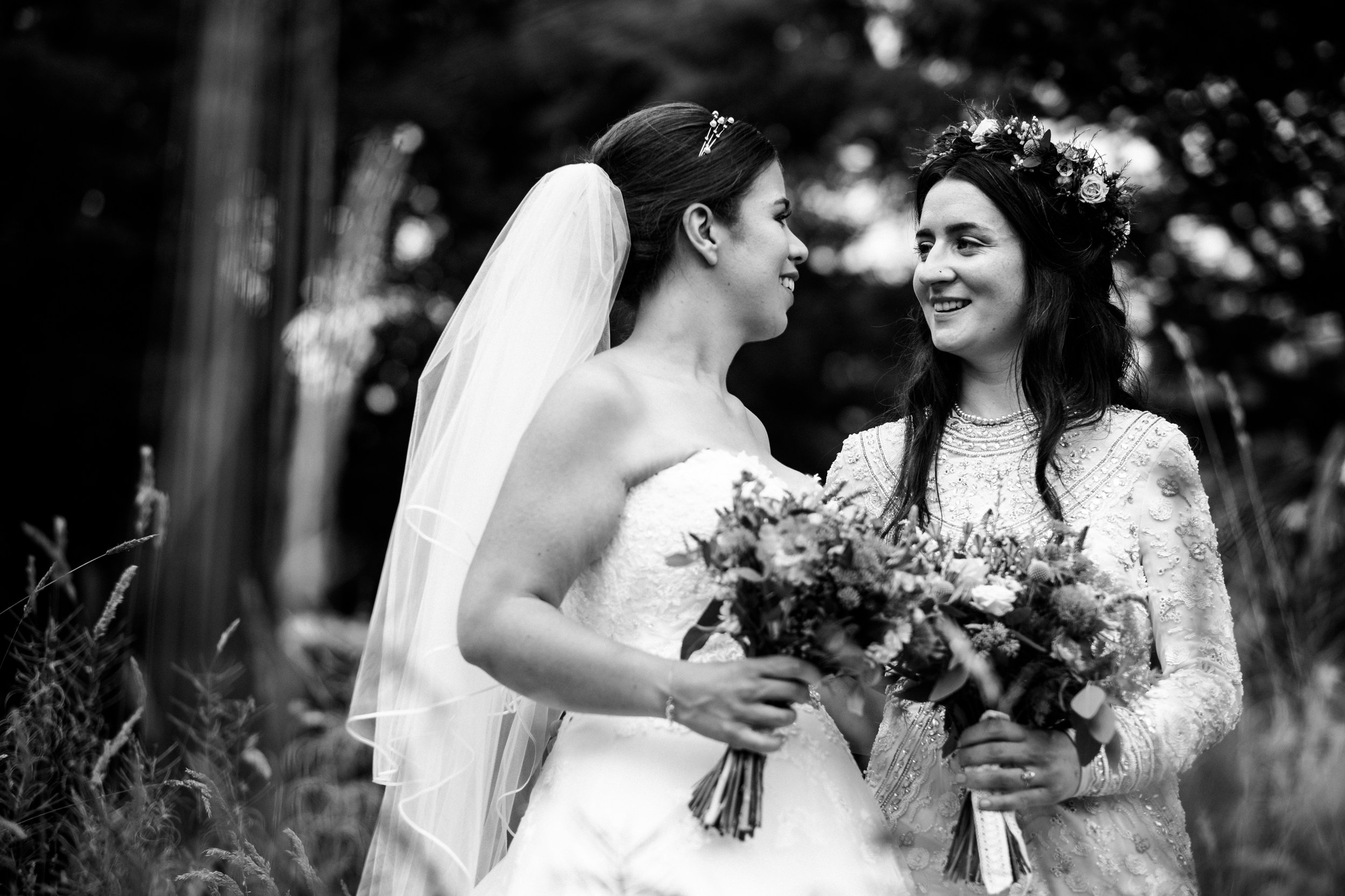 Summer Staffordshire Same Sex Wedding at The Ashes Barns, Endon Brides Mrs and Mrs - Jenny Harper-58.jpg