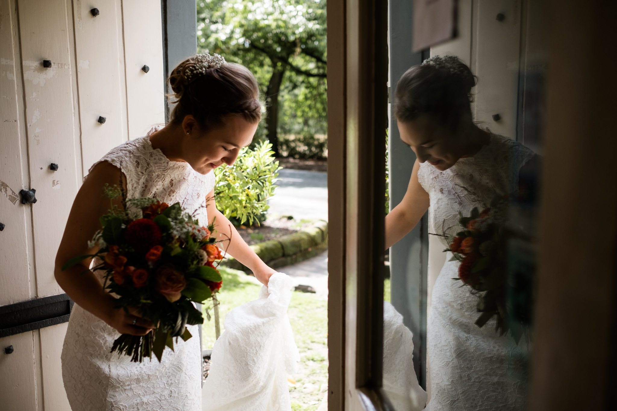 Relaxed Documentary Wedding Photography at The Wizard Inn, Alderley Edge Cheshire - Jenny Harper-15.jpg
