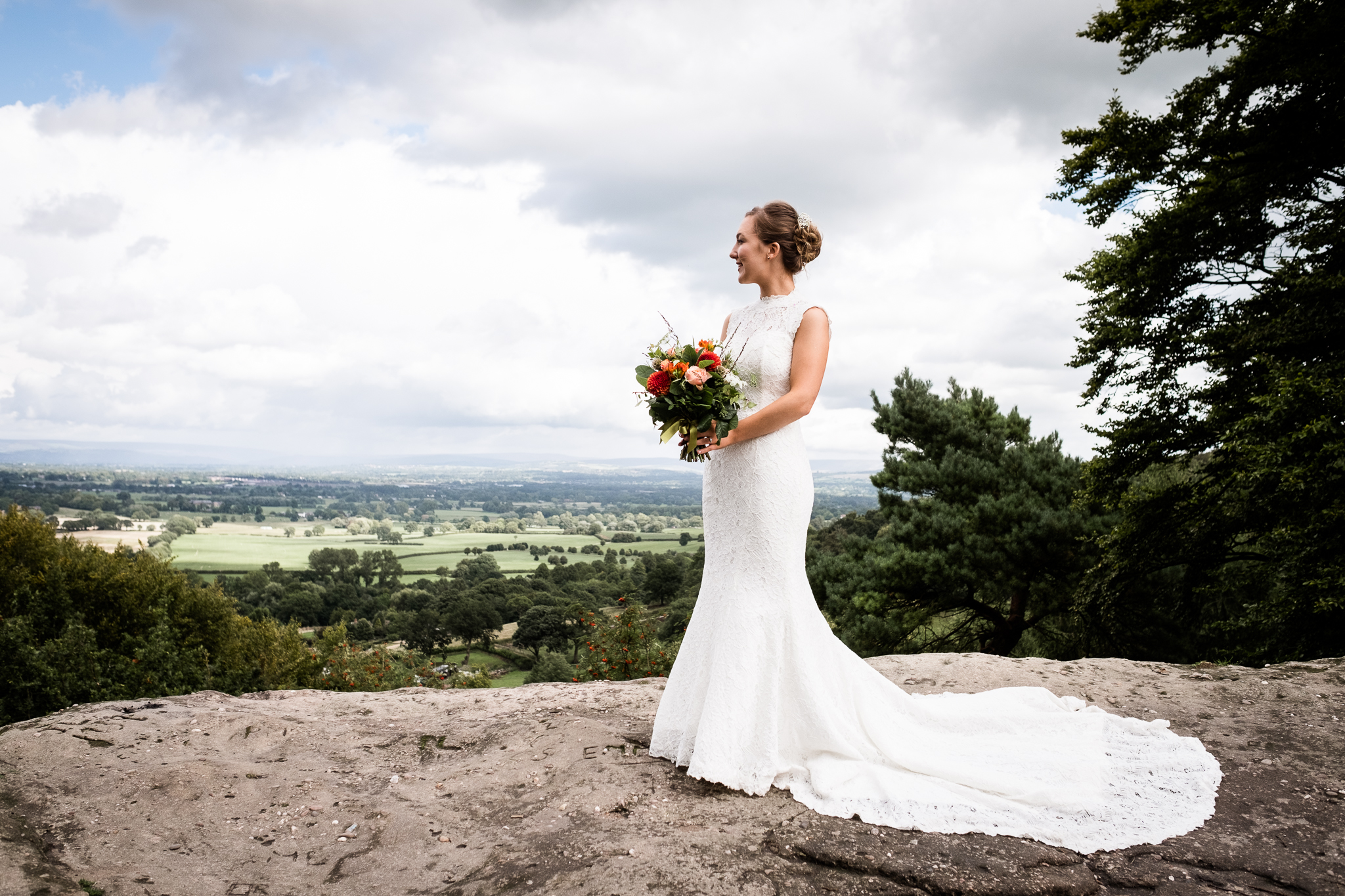 Relaxed Documentary Wedding Photography at The Wizard Inn, Alderley Edge Cheshire - Jenny Harper-44.jpg