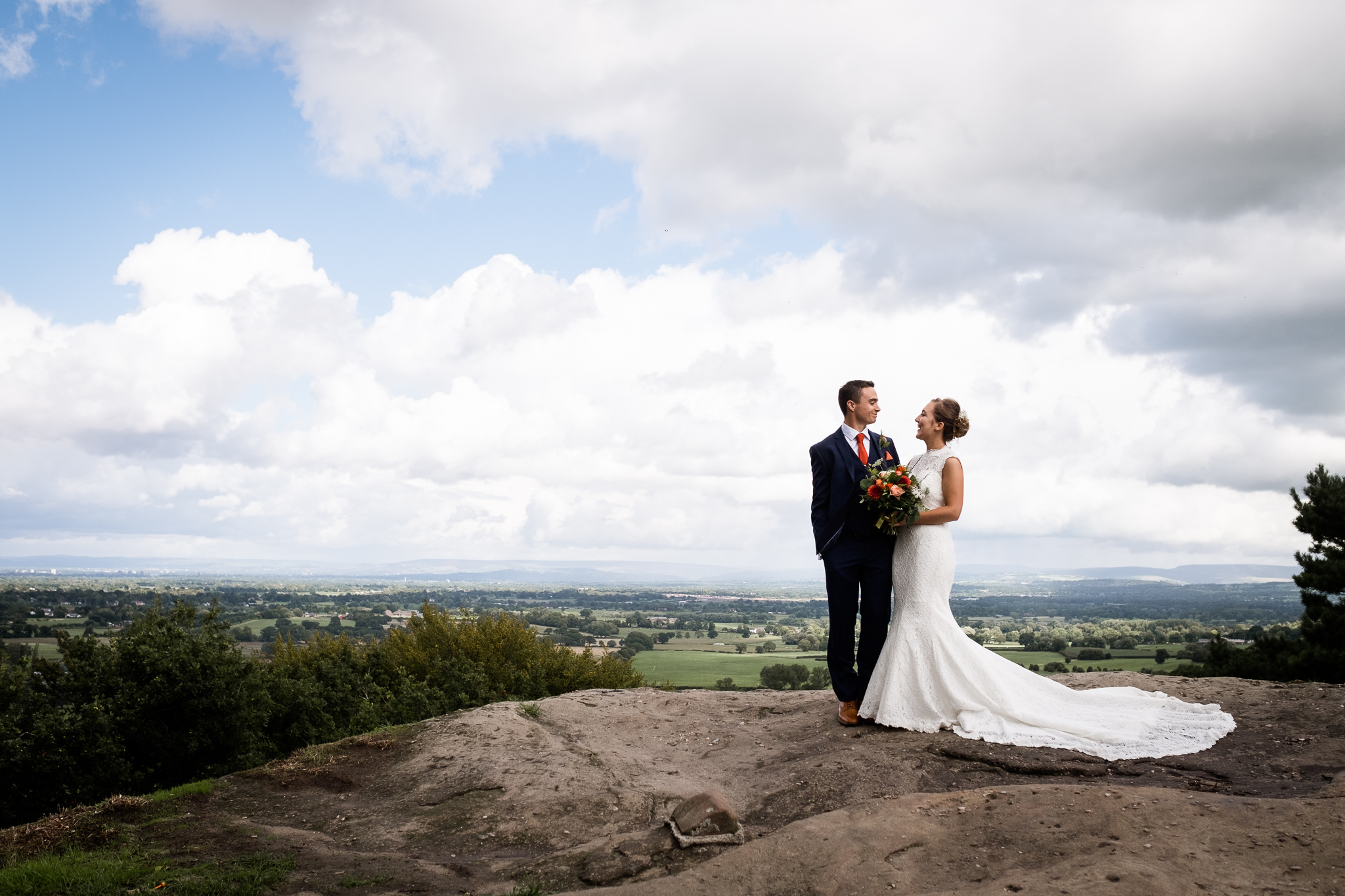 Relaxed Documentary Wedding Photography at The Wizard Inn, Alderley Edge Cheshire - Jenny Harper-45.jpg