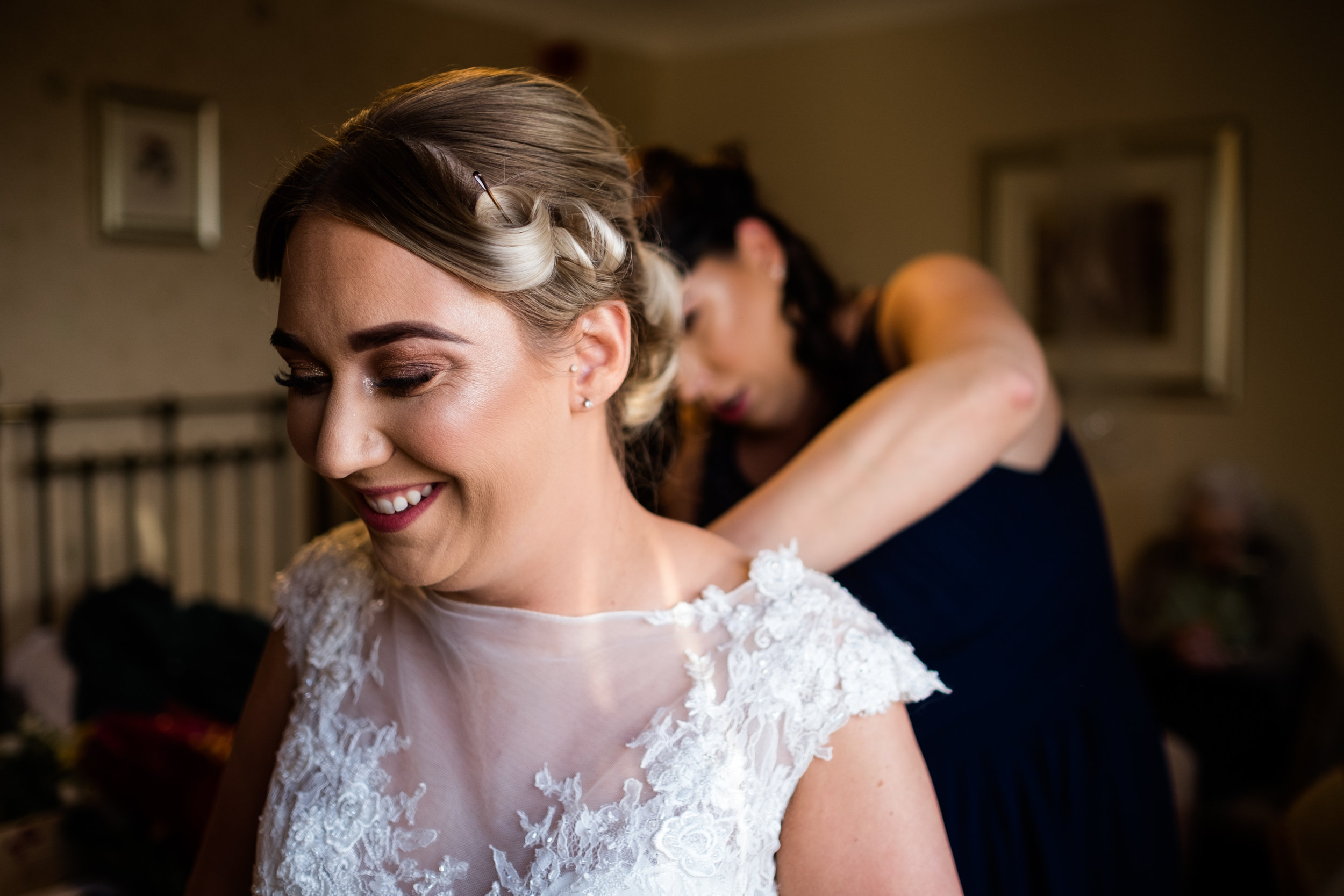 Autumn Wedding Photography at The Three Horseshoes, Blackshaw Moor, Staffordshire Moorlands - Jenny Harper-17.jpg