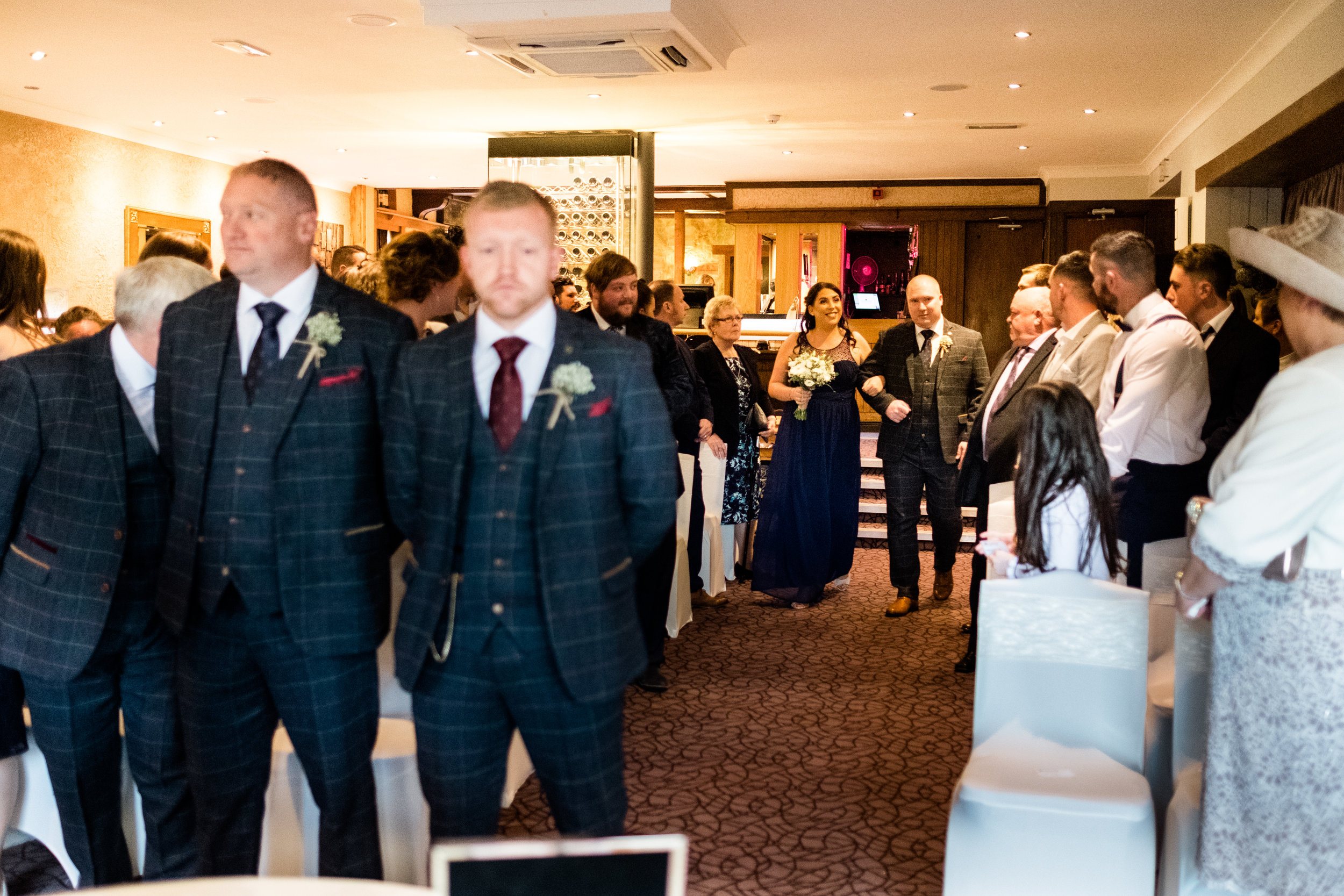 Autumn Wedding Photography at The Three Horseshoes, Blackshaw Moor, Staffordshire Moorlands - Jenny Harper-20.jpg