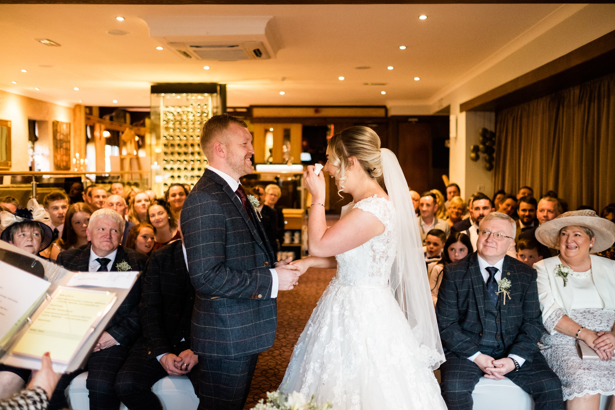 Autumn Wedding Photography at The Three Horseshoes, Blackshaw Moor, Staffordshire Moorlands - Jenny Harper-25.jpg
