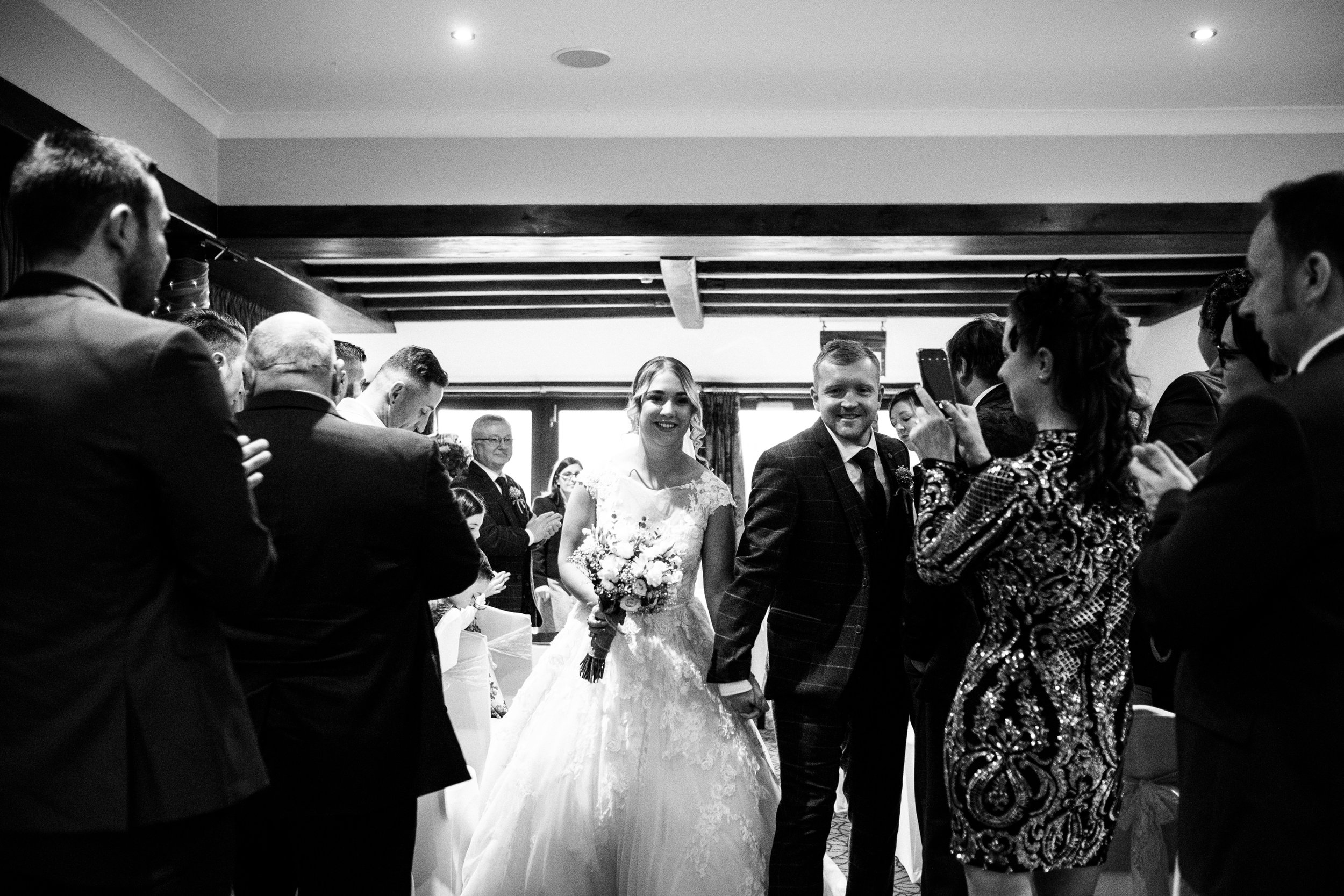 Autumn Wedding Photography at The Three Horseshoes, Blackshaw Moor, Staffordshire Moorlands - Jenny Harper-29.jpg