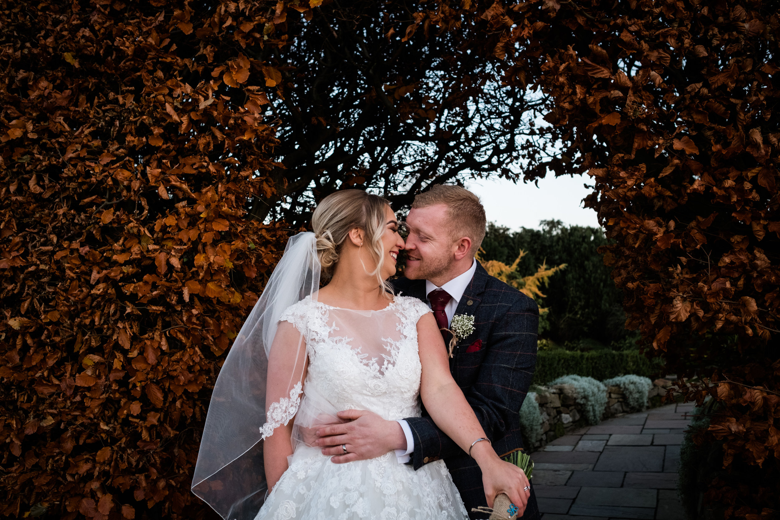 Autumn Wedding Photography at The Three Horseshoes, Blackshaw Moor, Staffordshire Moorlands - Jenny Harper-36.jpg