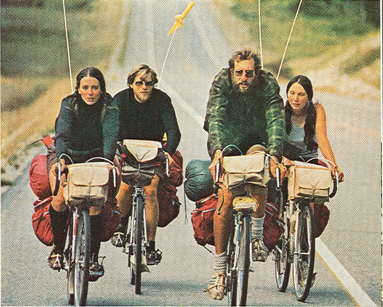 """National Geographic, May, 1973.Grove, N. """"Bicycles are Back, and Booming."""""""