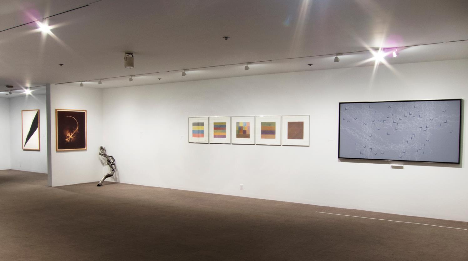 Richard Serra, Agnes Denes, Teeple, Sol Lewitt, Teeple