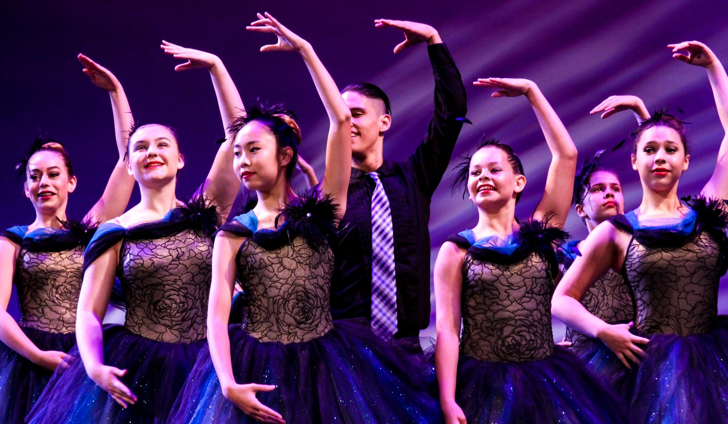 """""""Pump It"""" Beginning Teen Ballet 2014-2015, Instructor: Teri Buschman"""