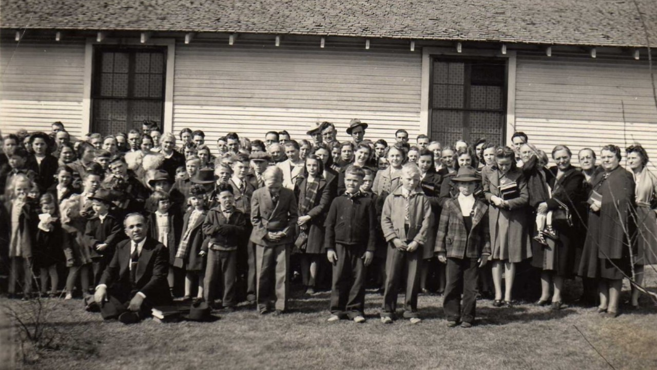Bethel Temple Group Photo. Part 2. About 1932.