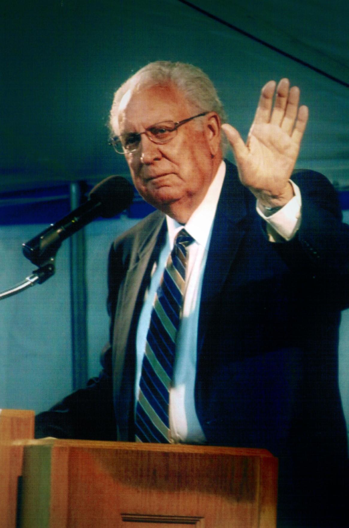 Bishop Allen R. Picklesimer, 2010