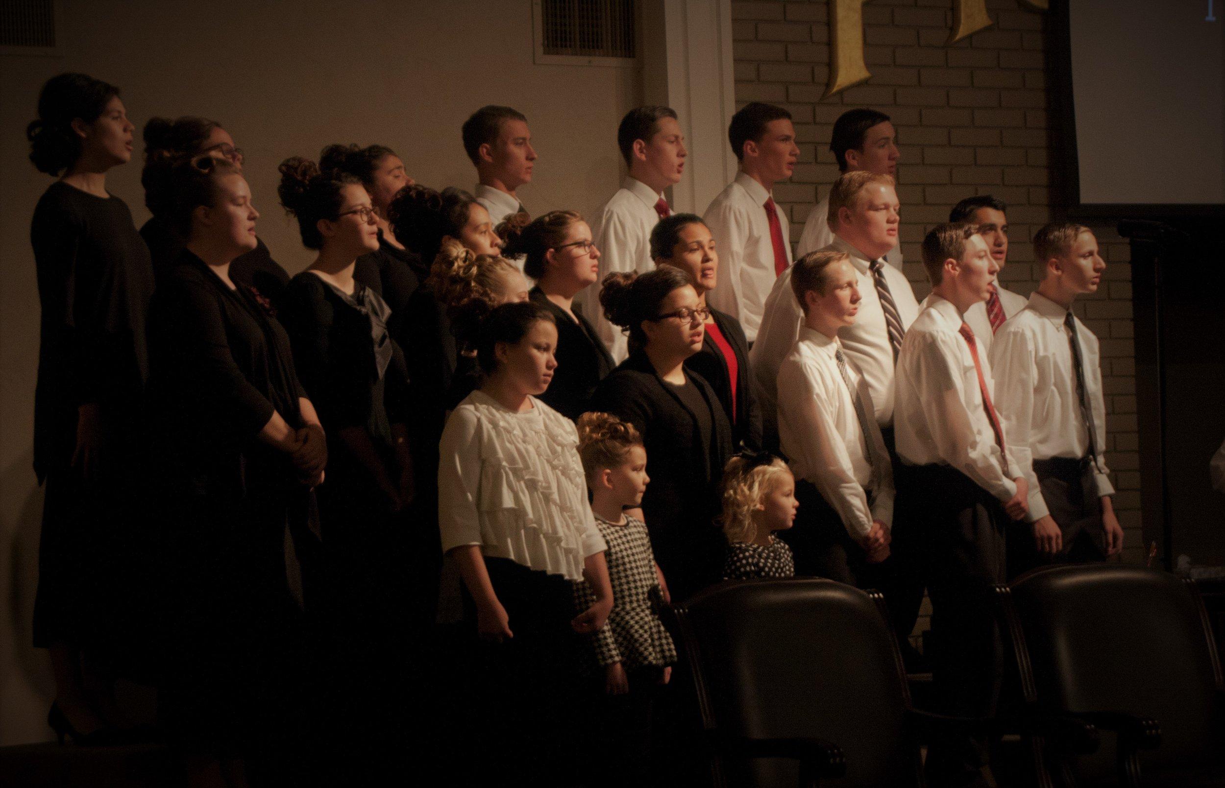 Bethel Temple Youth Choir, 2017