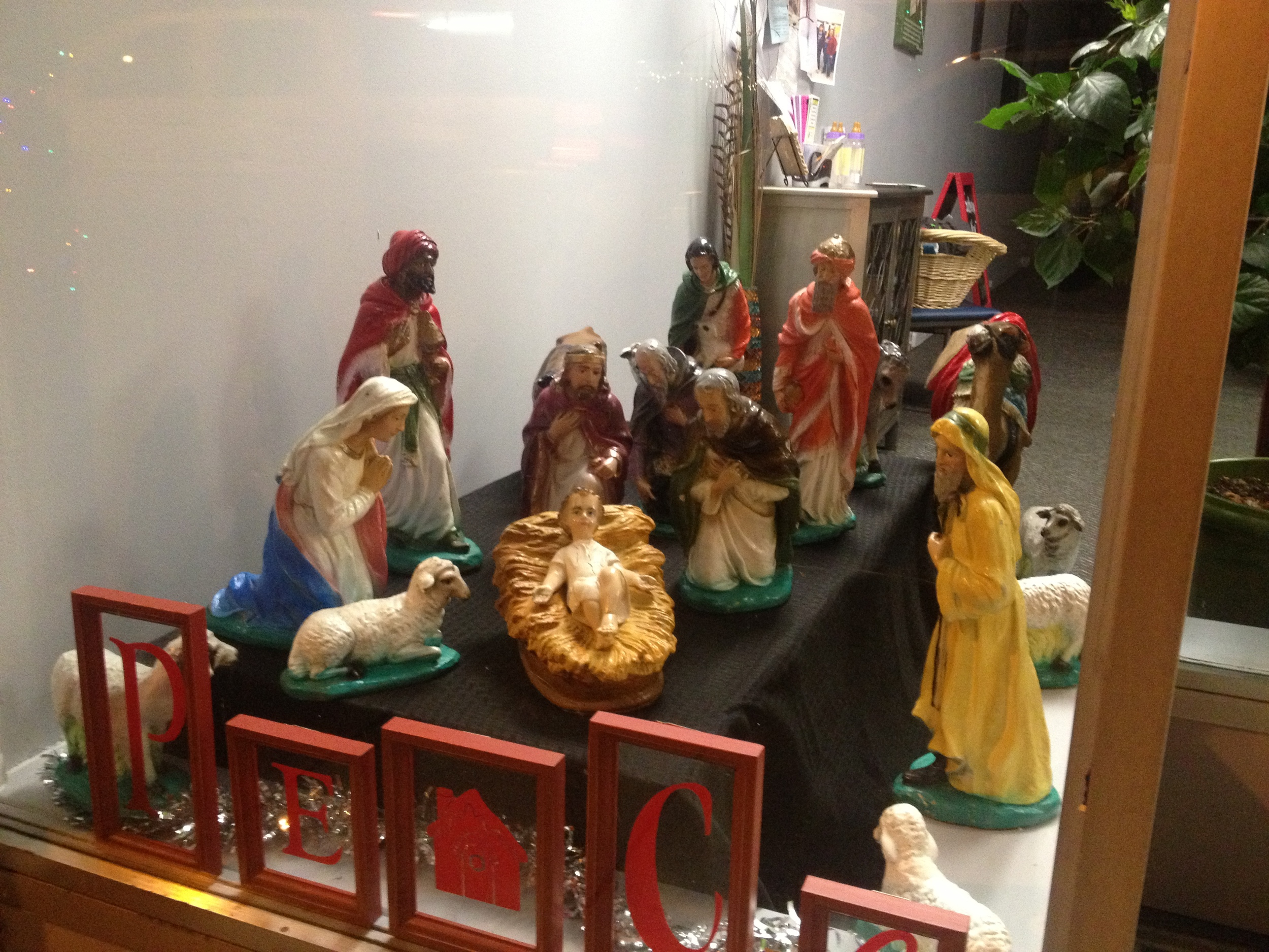 Store Front Nativity