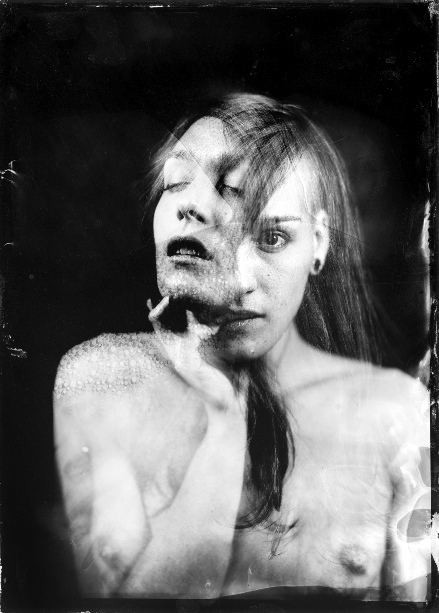 - Marion #1Original Ferrotype 13x18cmin original early XX century photographic frame1300 €Print availableContact us for available sizes and quotation