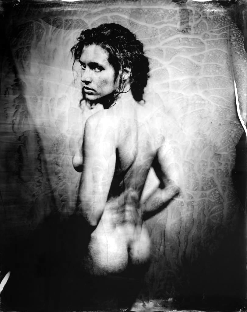 - Gaelle #2Original huge Ambrotype 40x50 cmin frame2900 €Only original, no print available