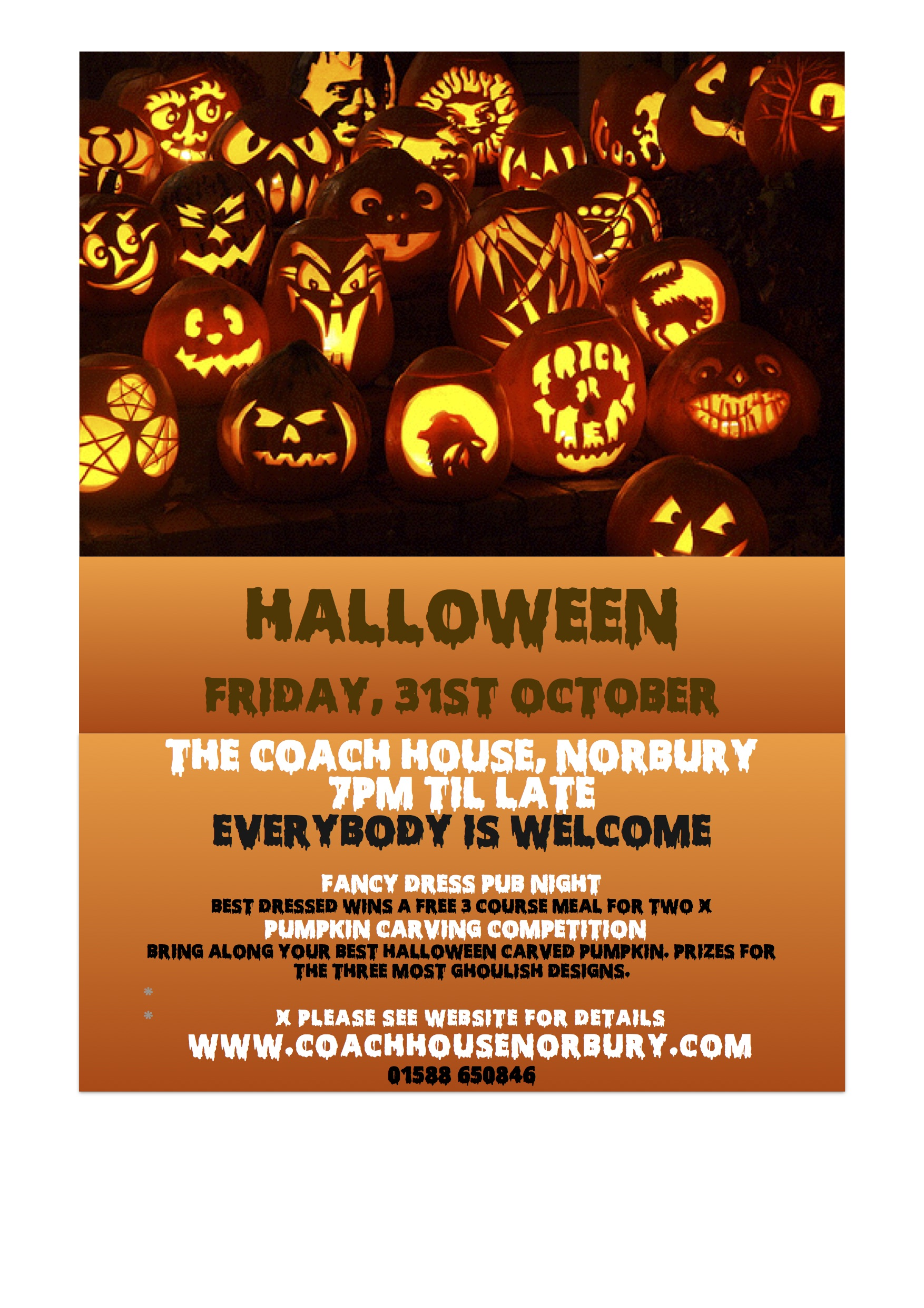 halloween at the Coach House