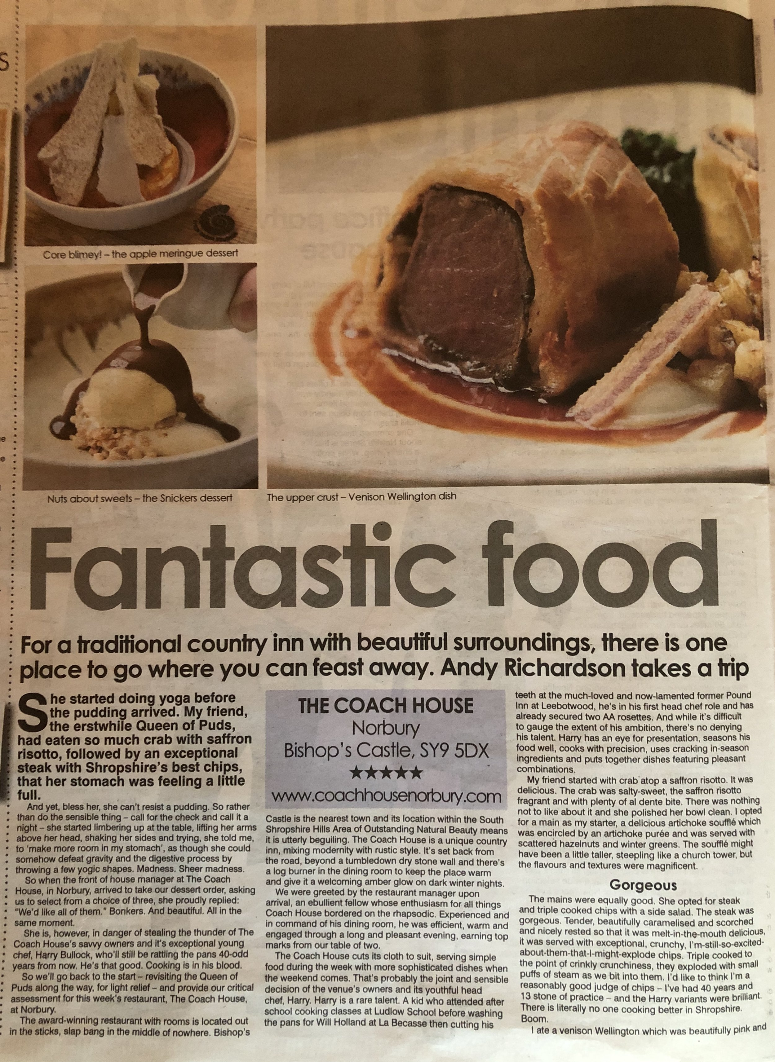 Shropshire Star Review part 1 .JPG