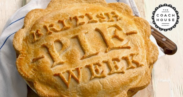 £10 pie & a pint night - or £11 if you prefer a glass of grape juice